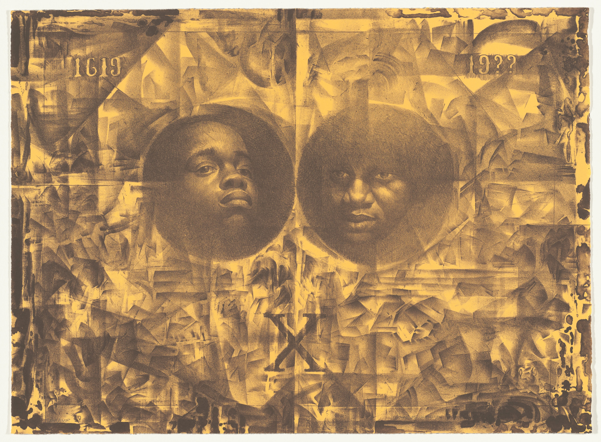 Charles White. Wanted Poster Series #14a. 1970