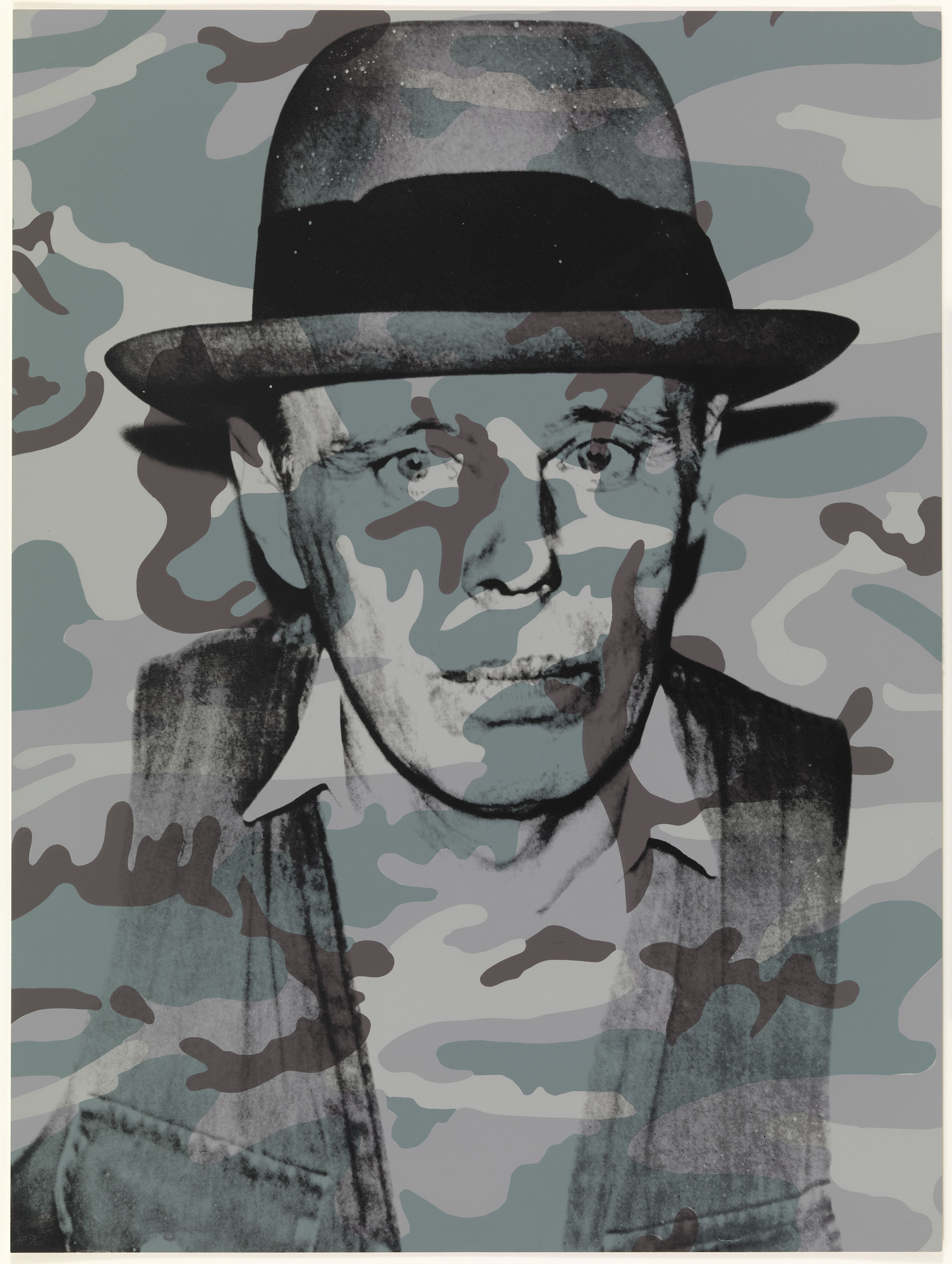 Andy Warhol. Joseph Beuys in Memoriam. 1986