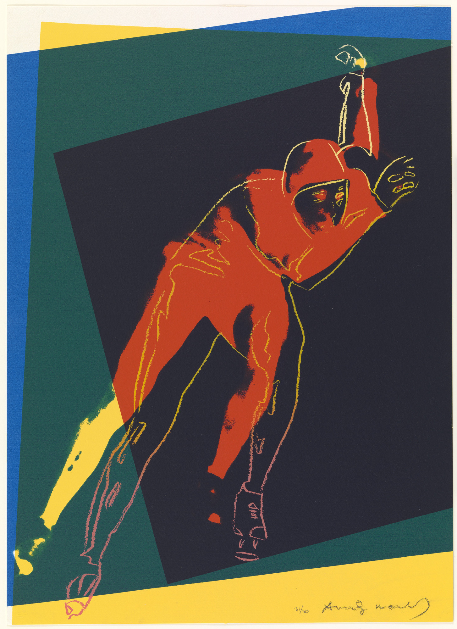 Andy Warhol. Speed Skater. 1983