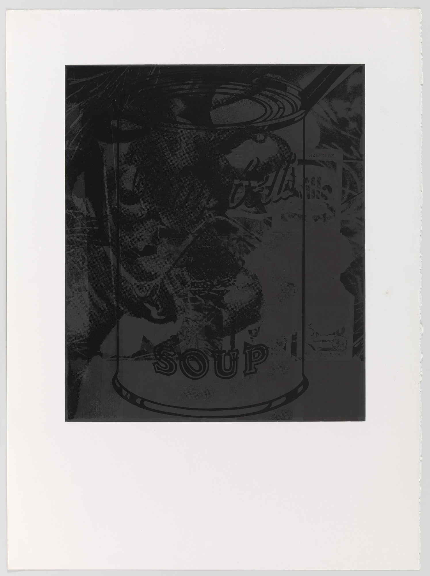 Andy Warhol. Untitled 12 from For Meyer Schapiro. 1974