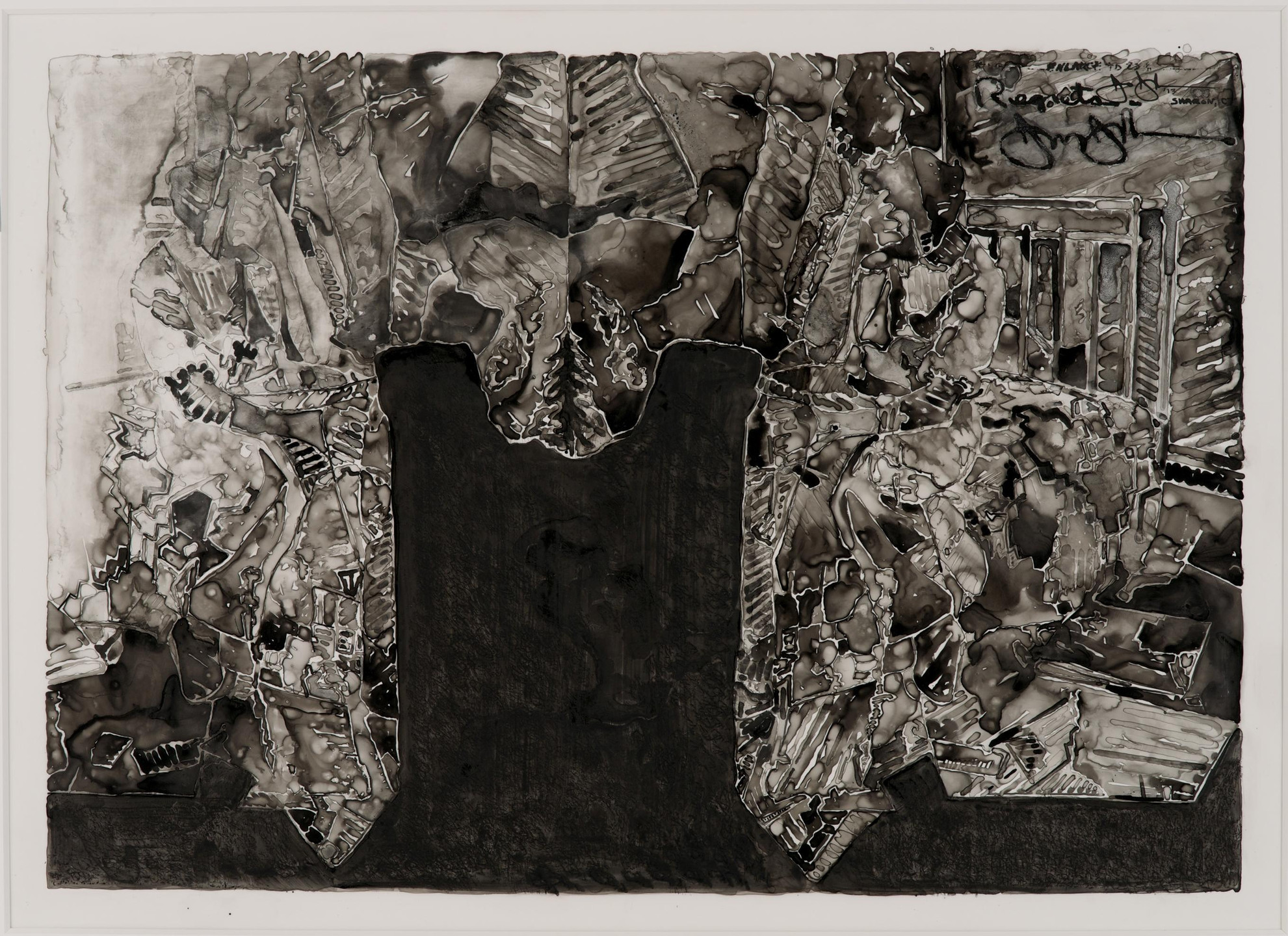 Jasper Johns. Untitled. 2013