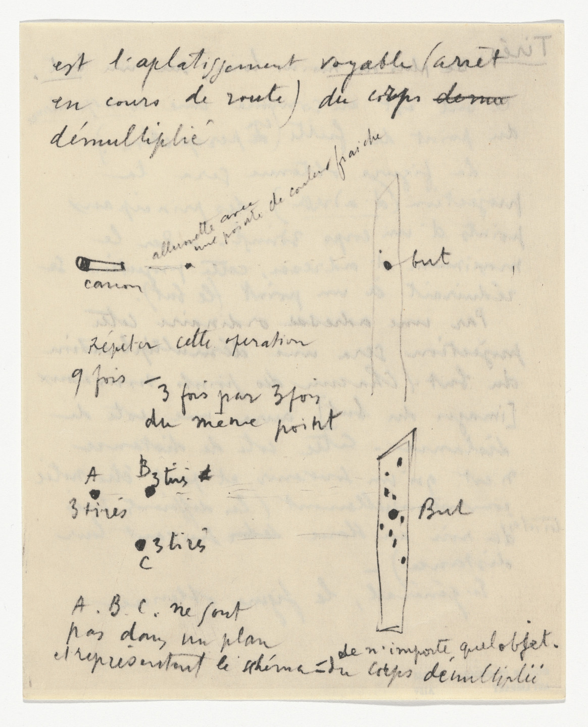 Marcel Duchamp. Untitled from The Bride Stripped Bare by Her Bachelors, Even (The Green Box) (La mariée mise à nu par ses célibataires, même [Boîte verte]). 1934