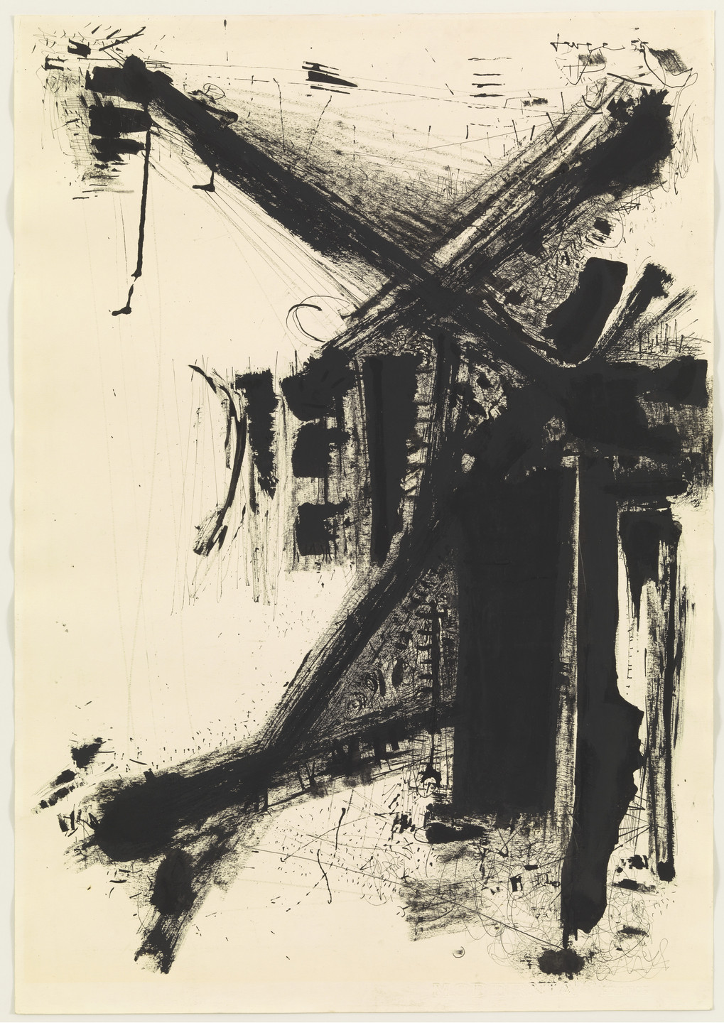 John Levee. Drawing. 1955