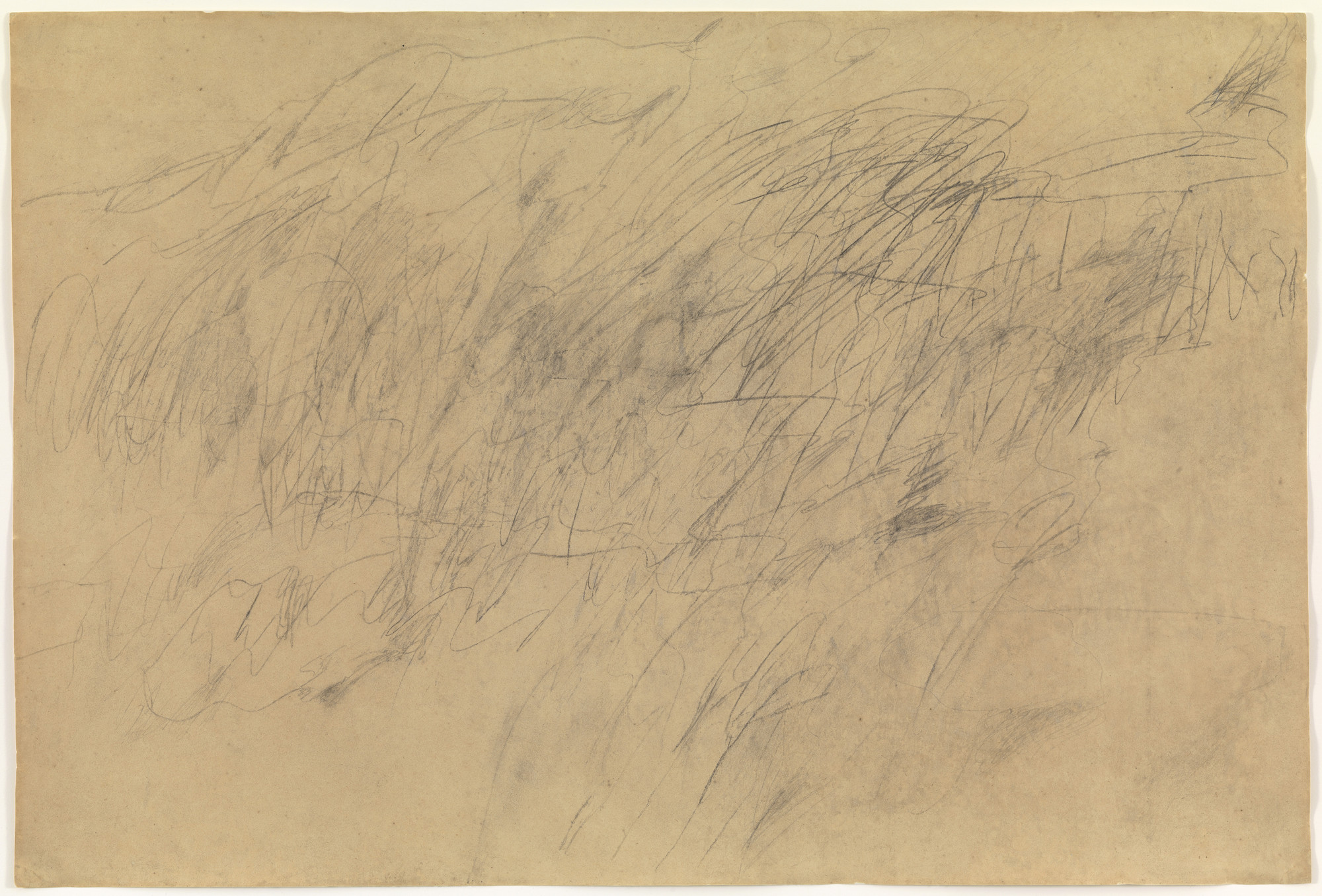 Cy Twombly. Untitled. (1955)