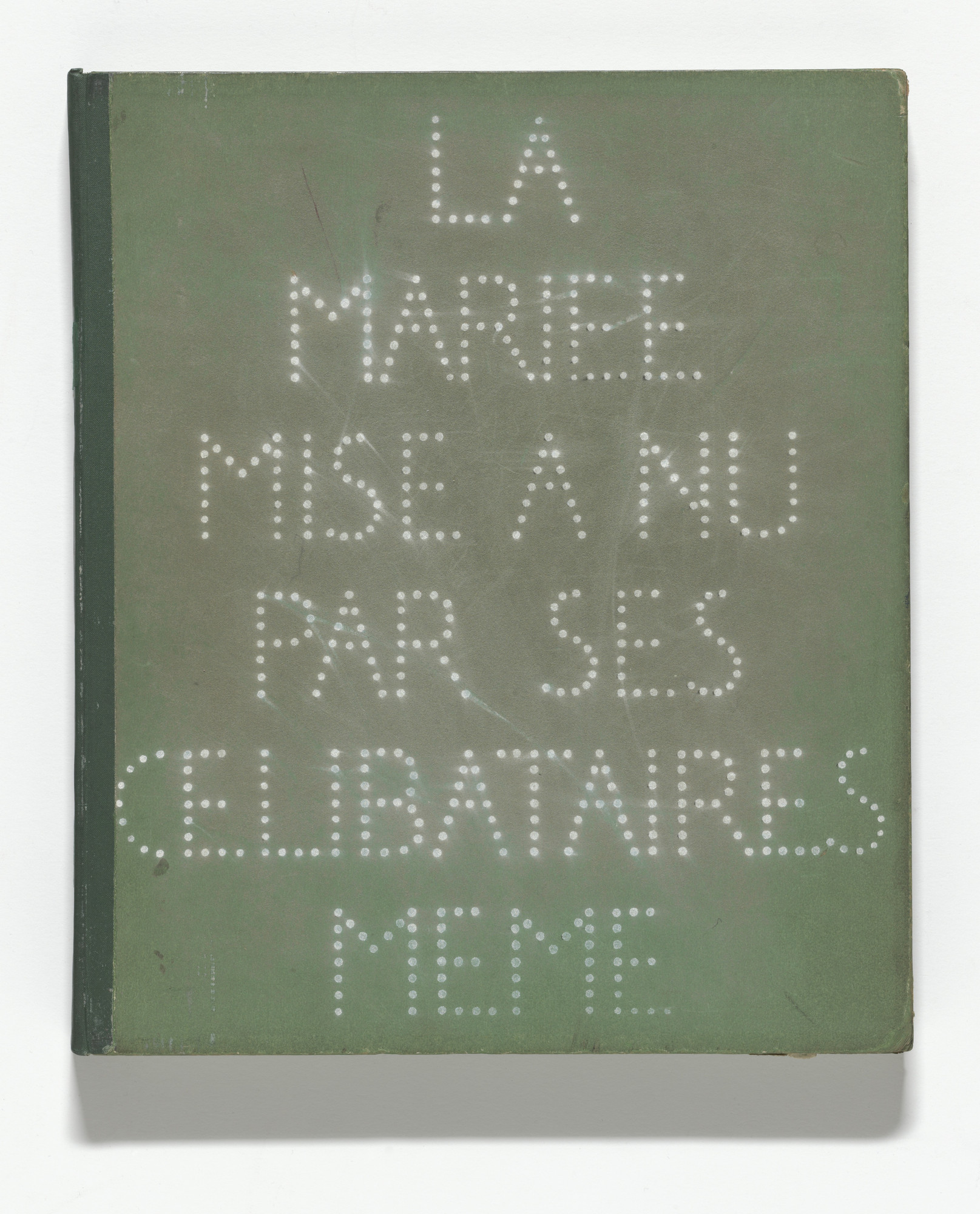 Marcel Duchamp. The Bride Stripped Bare by Her Bachelors, Even (The Green Box) (La Mariée mise à nu par ses célibataires, même [Boîte verte]). 1934