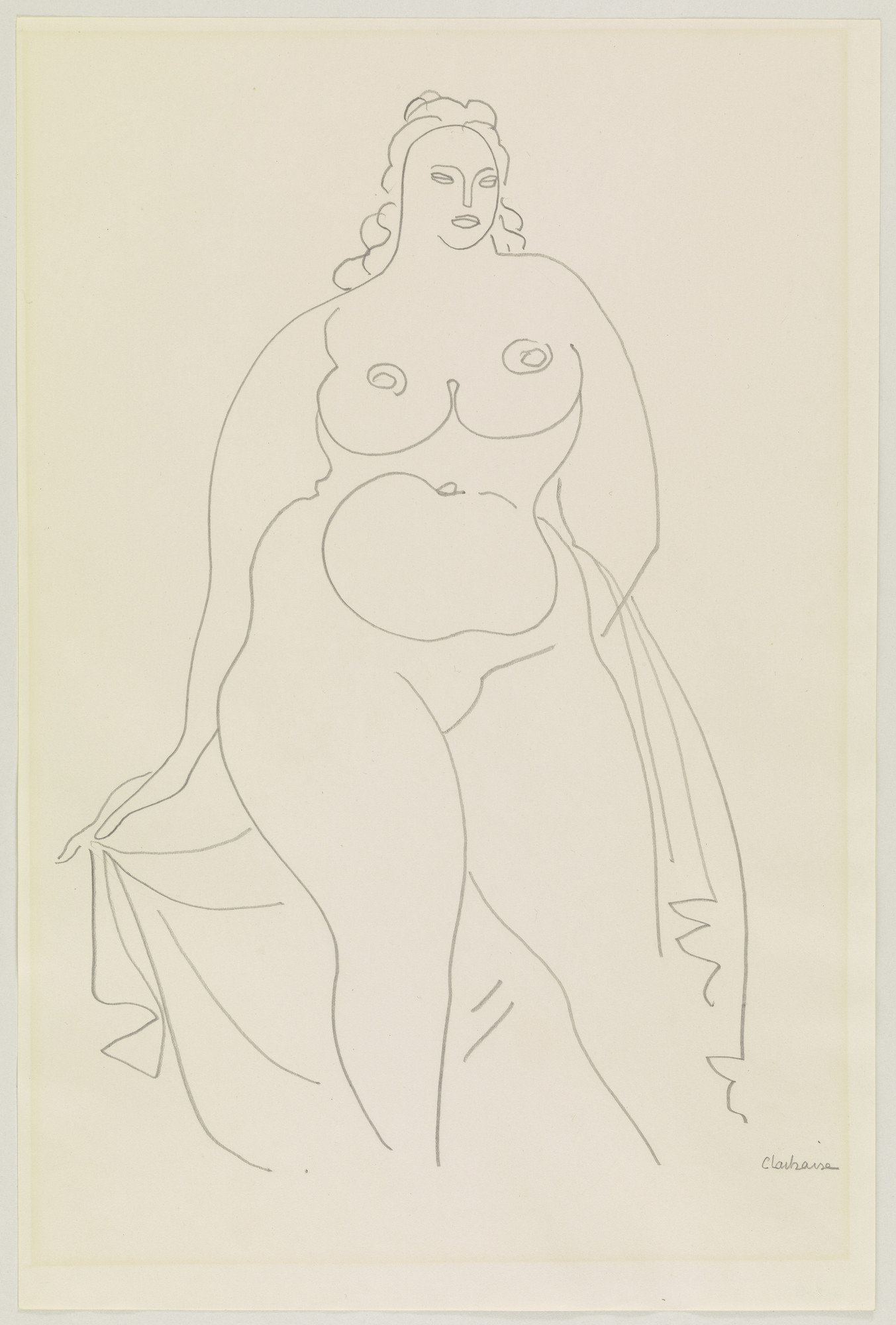 Gaston Lachaise. Standing Woman with Drapery. c. 1929–31