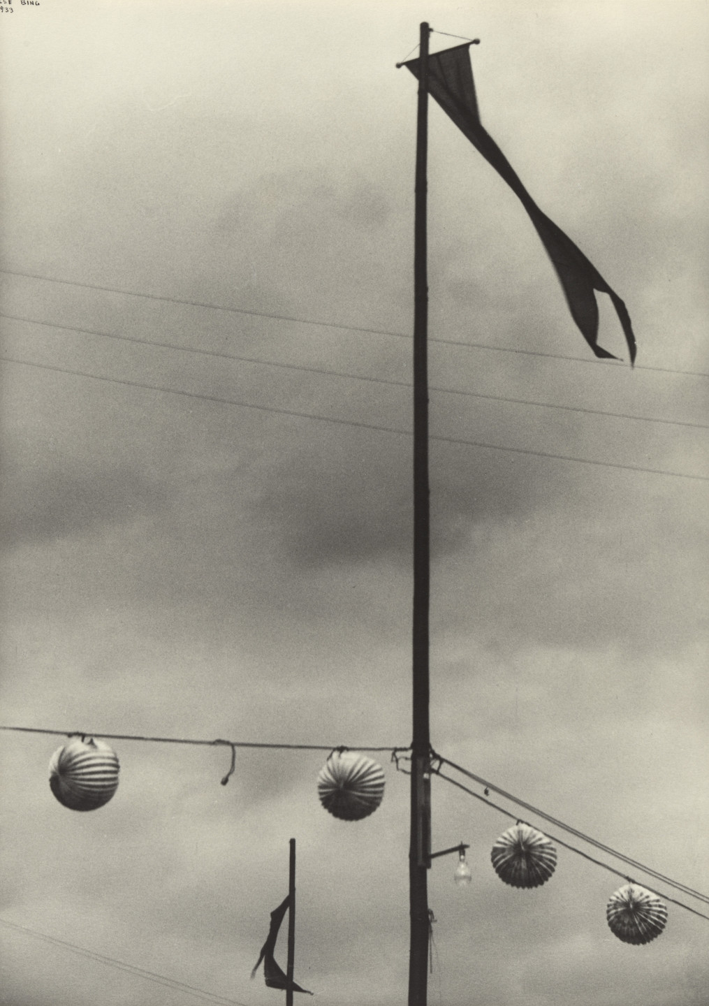 Ilse Bing. Bastille Day, Paris. 1933