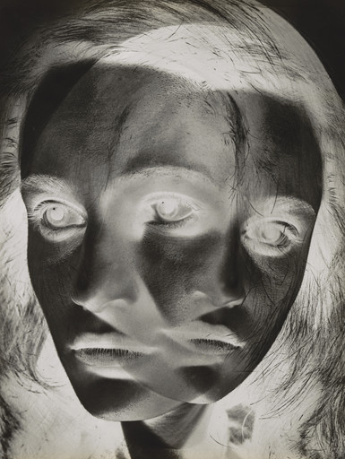 Otto Steinert. Face of a Dancer. 1952