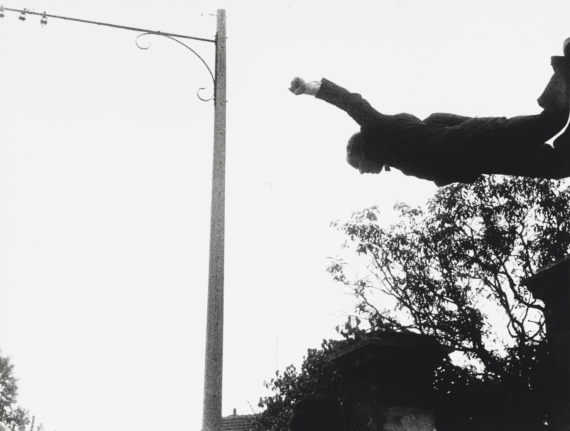 Yves Klein, Harry Shunk, János Kender. Leap into the Void. 1960