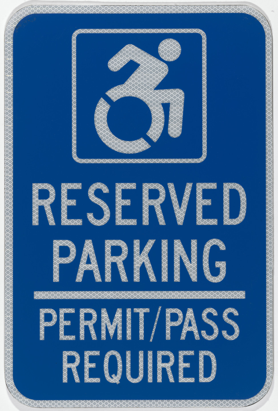 Tim Ferguson Sauder, Brian Glenney, Sara Hendren. Accessible Icon Project, parking sign. 2009-2011