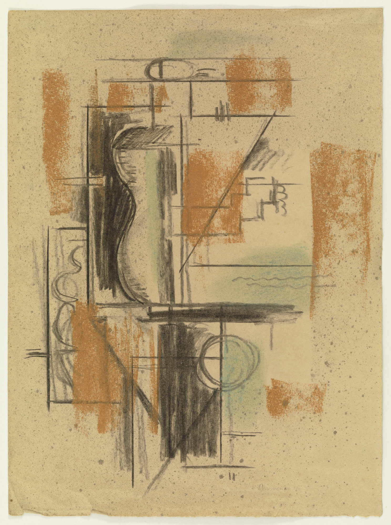 Willi Baumeister. Constructive Composition. 1921