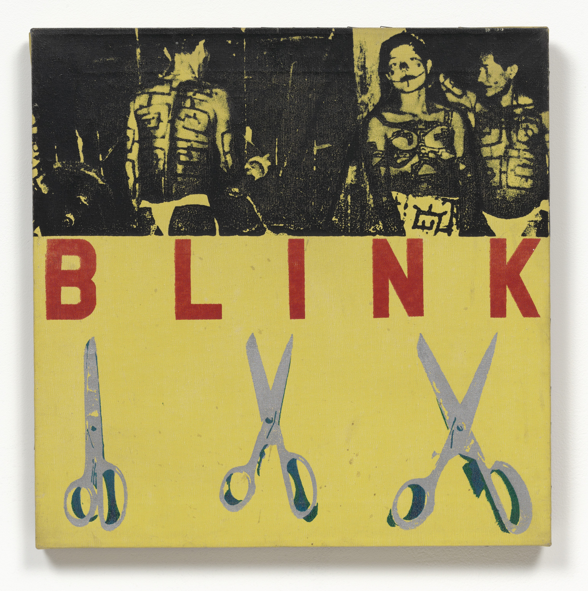 George Brecht, Alison Knowles, Robert Watts. Blink. 1963