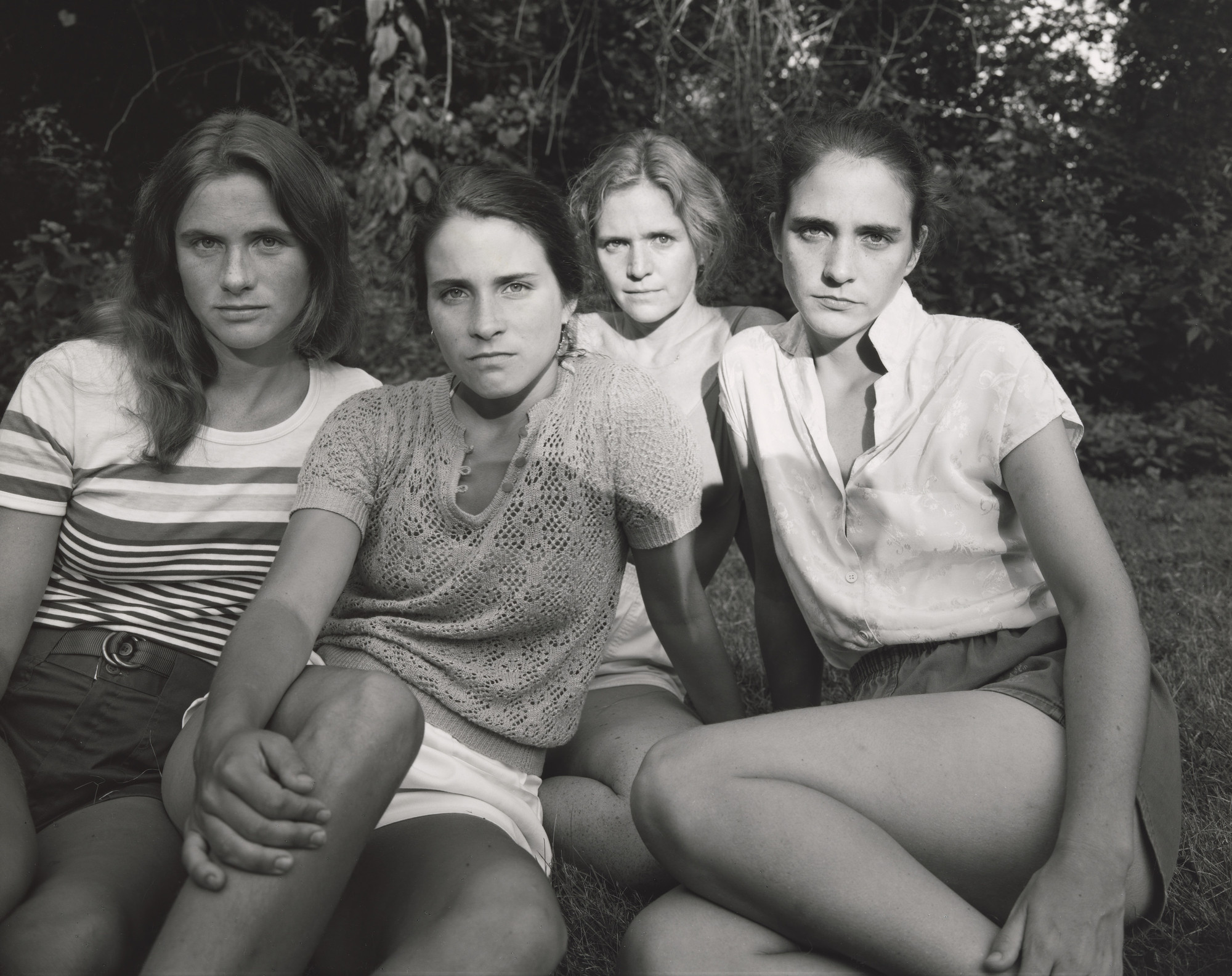 Nicholas Nixon. The Brown Sisters, Cincinnati, Ohio. 1981