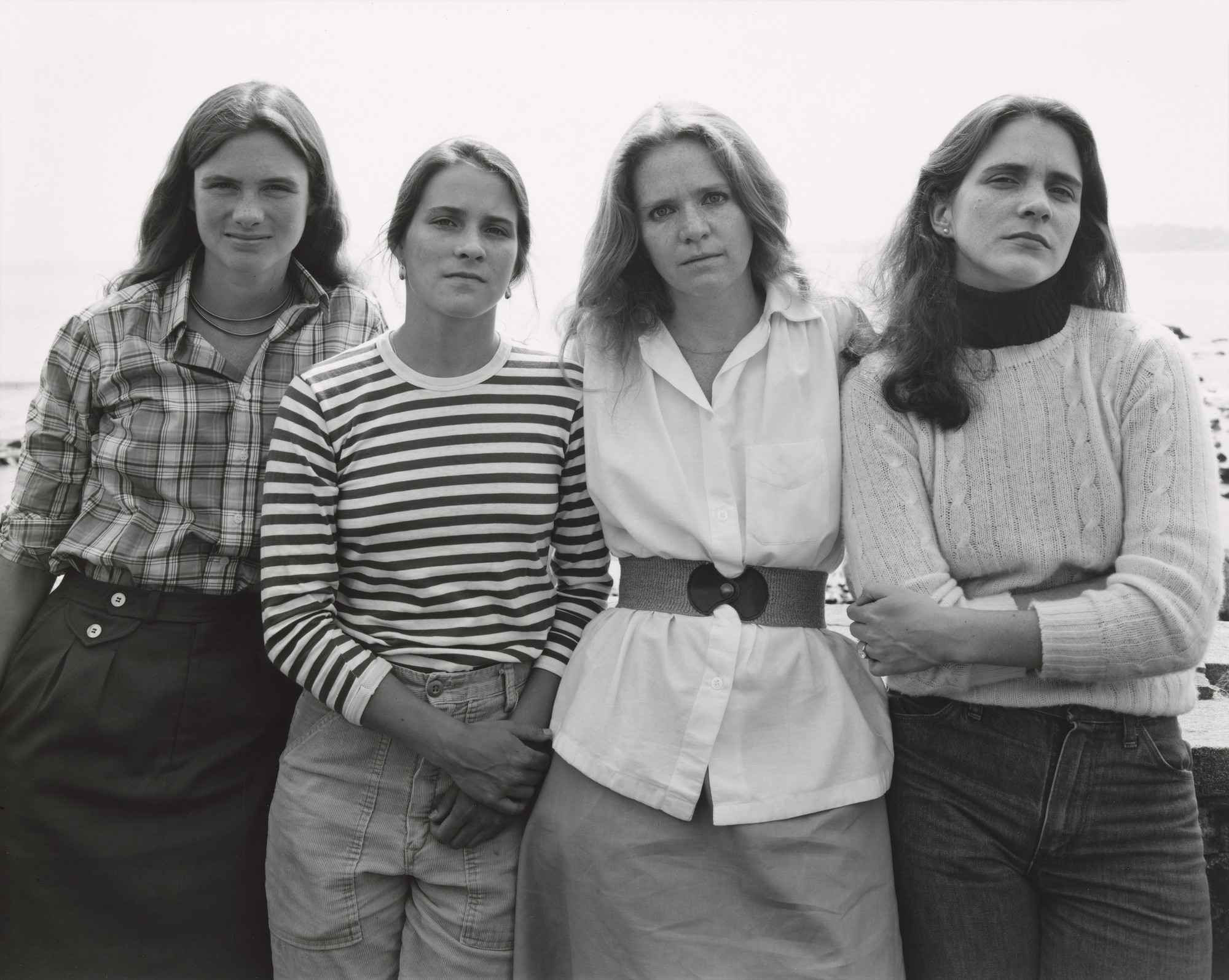 Nicholas Nixon. The Brown Sisters, Marblehead, Massachusetts. 1979