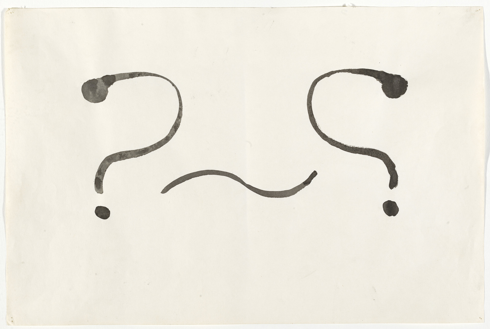 Mike Kelley. The Two of Symmetry. 1981