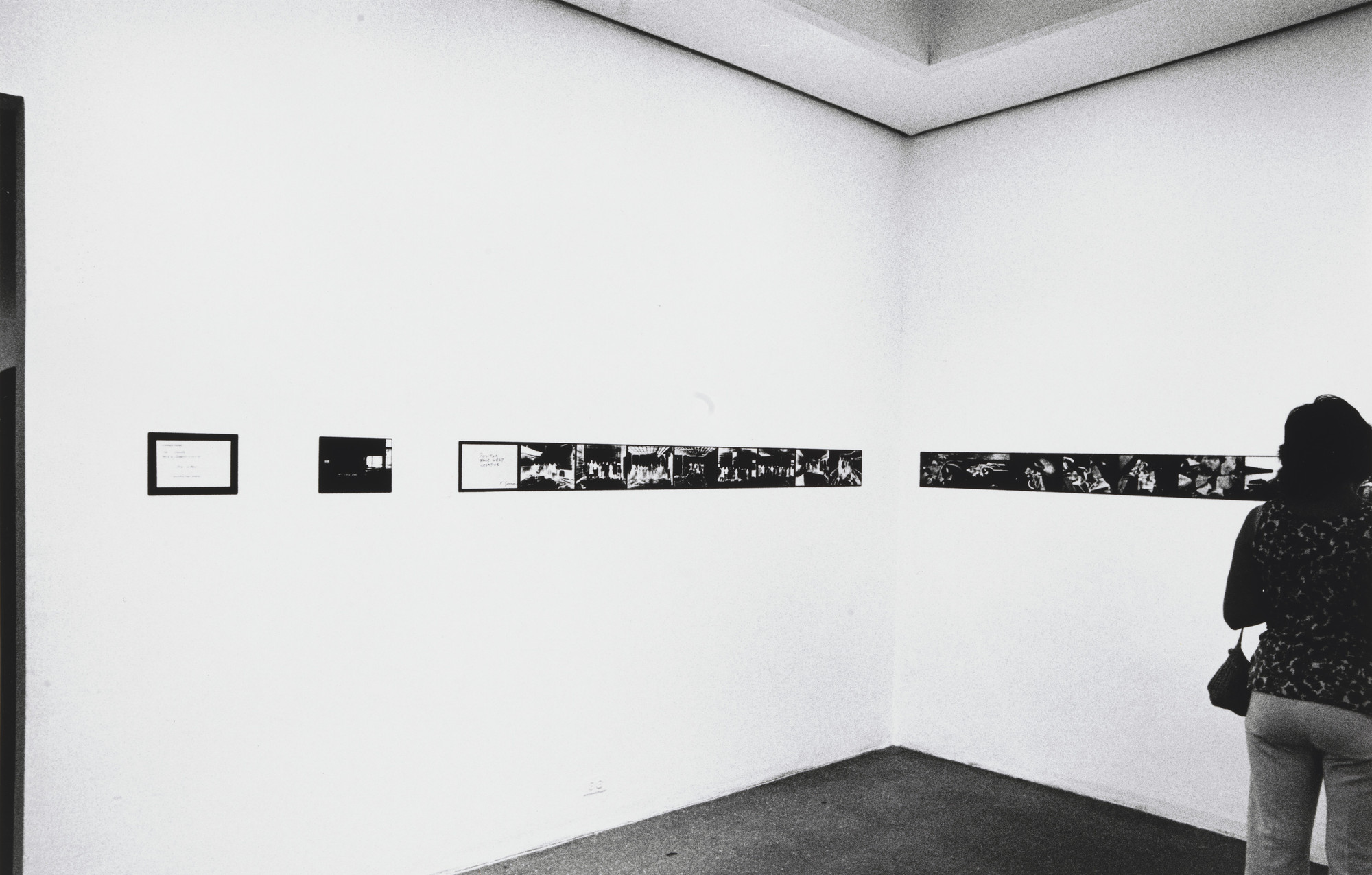 "Harry Shunk, János Kender. Installation view of the exhibition, ""Projects: Pier 18"". 1971"