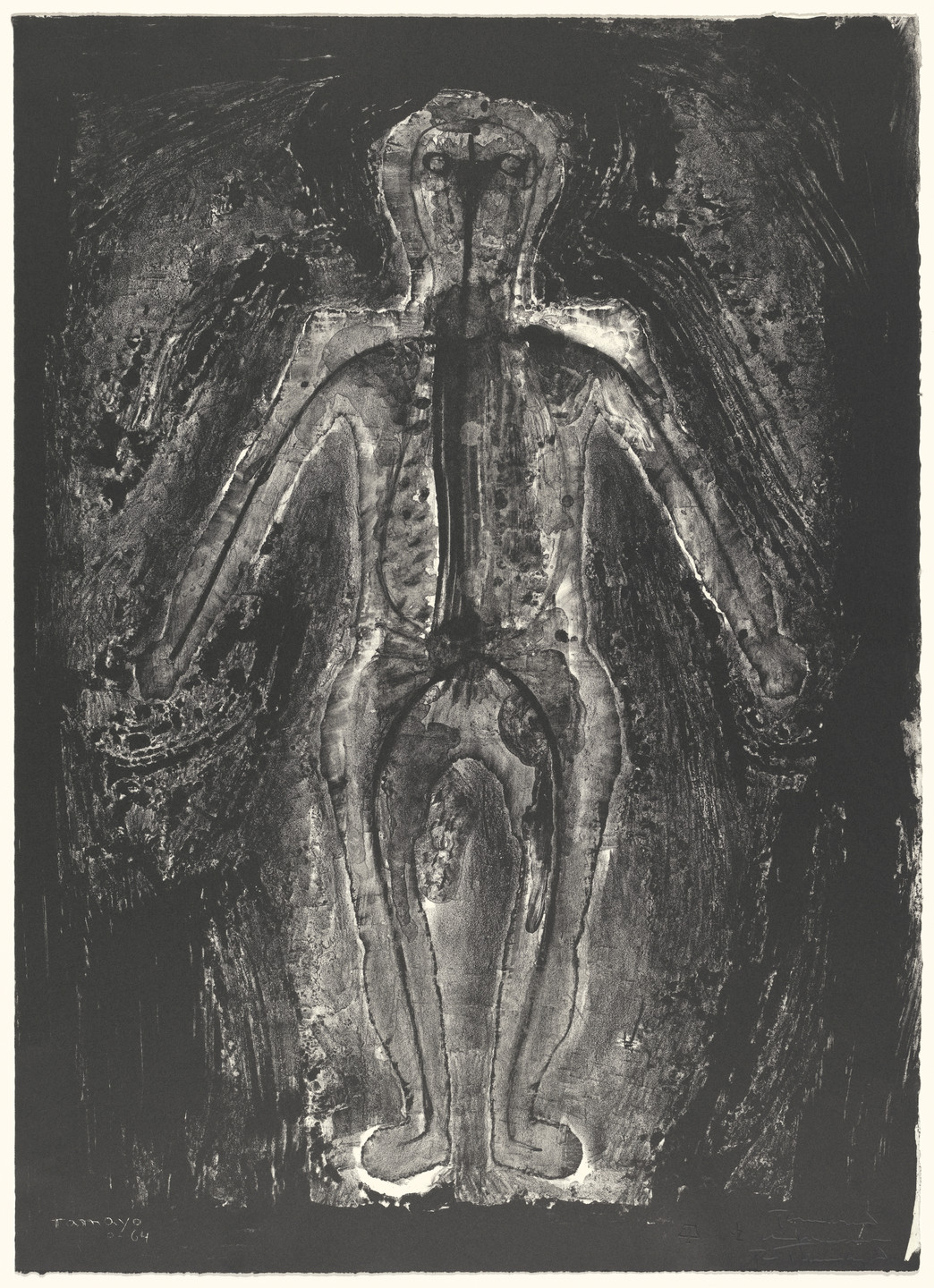 Rufino Tamayo. Transparent Man. 1964