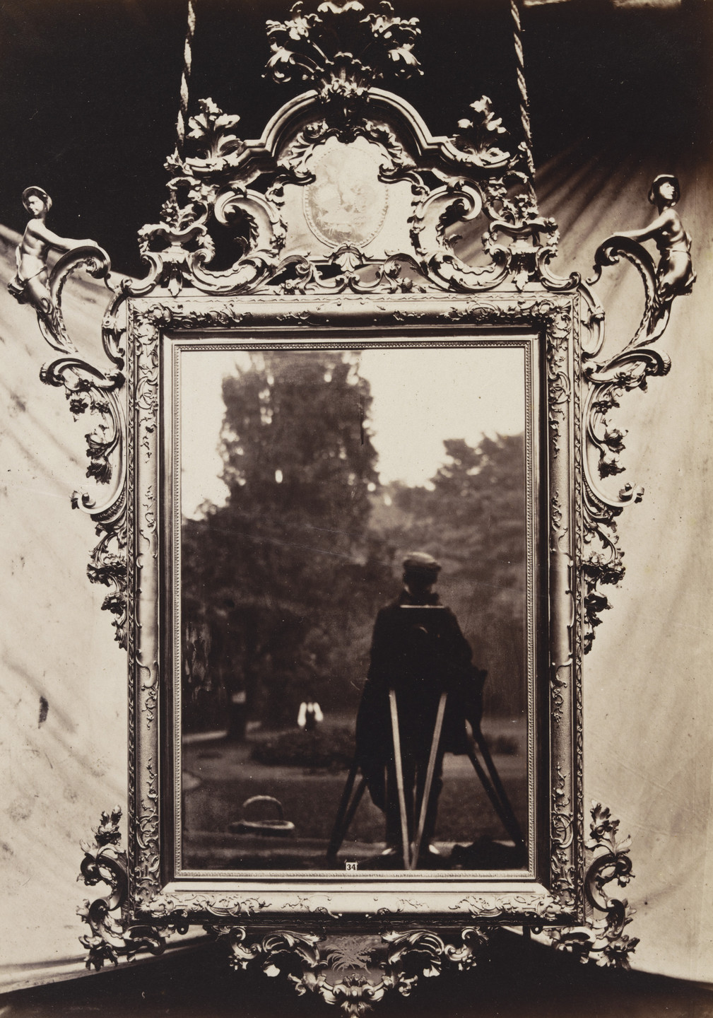Charles Thurston Thompson. Venetian Mirror, c. 1700, from the Collection of John Webb. 1853