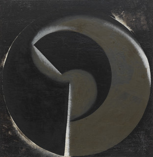 Non-Objective Painting no. 80 (Black on Bl...