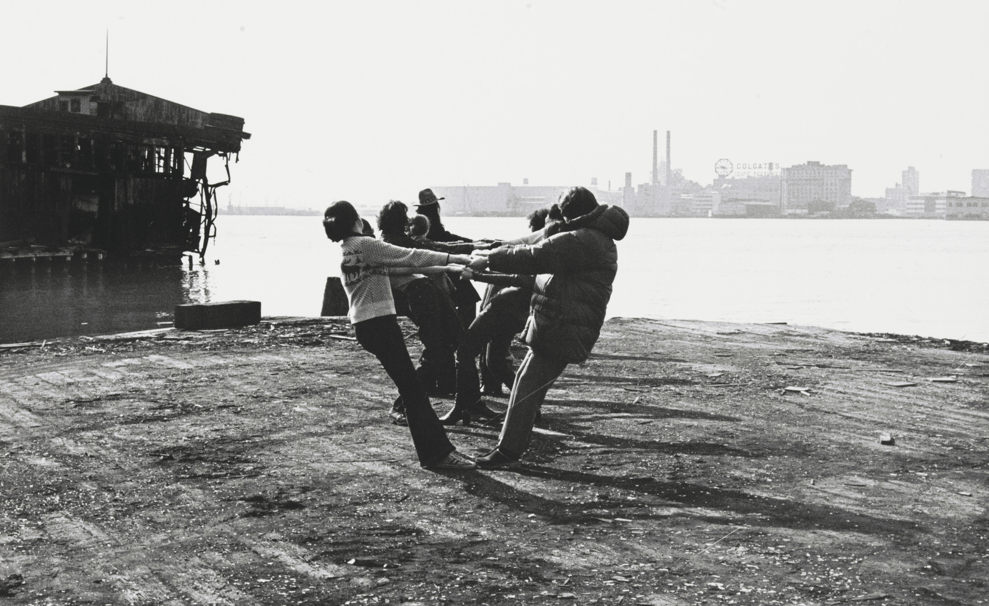 Robert Morris, Harry Shunk, János Kender. 3 Configurations in Anticipation of the Equinox Sunset. 1971