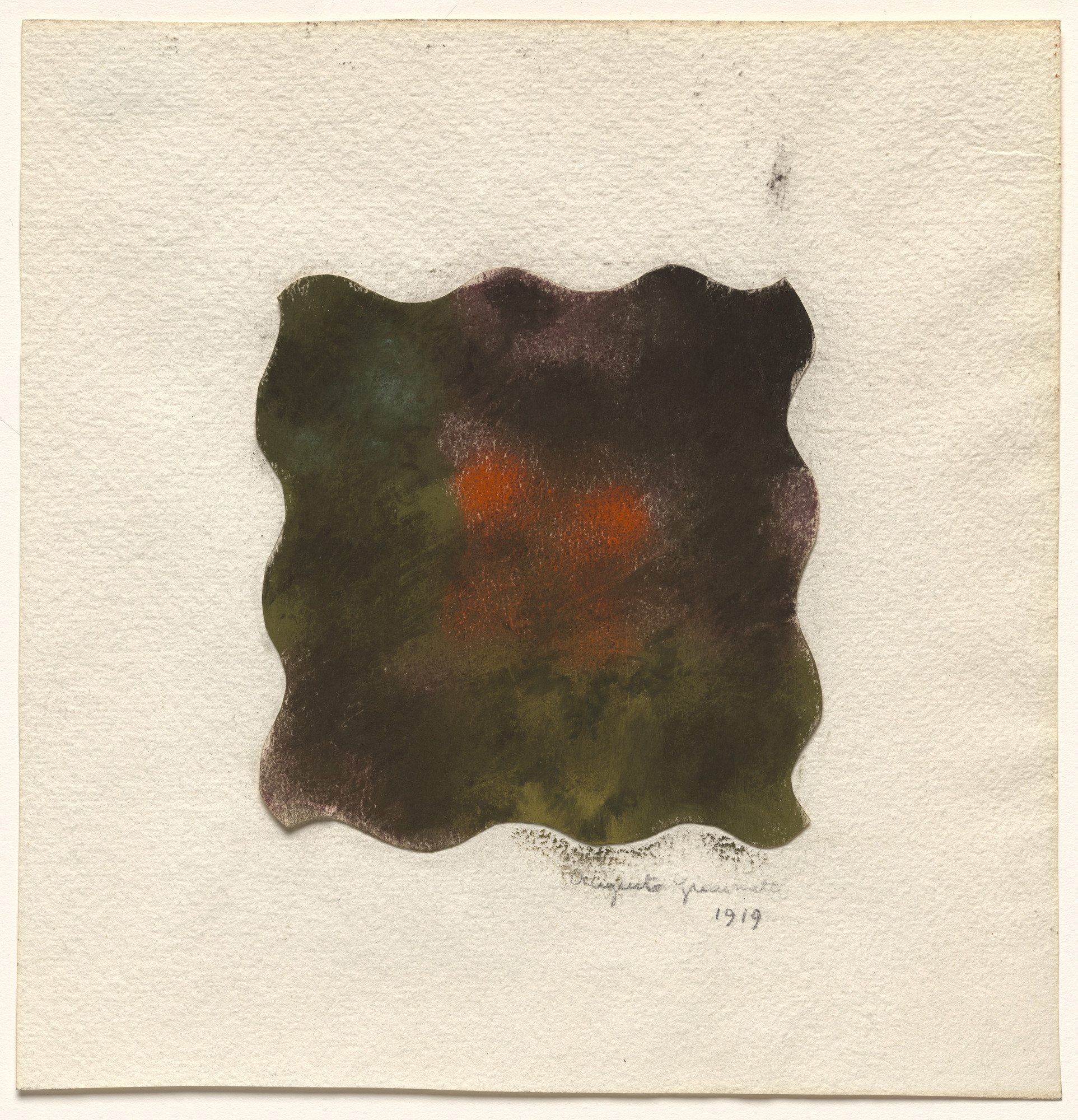 Augusto Giacometti. Colored Moss, IV. 1919