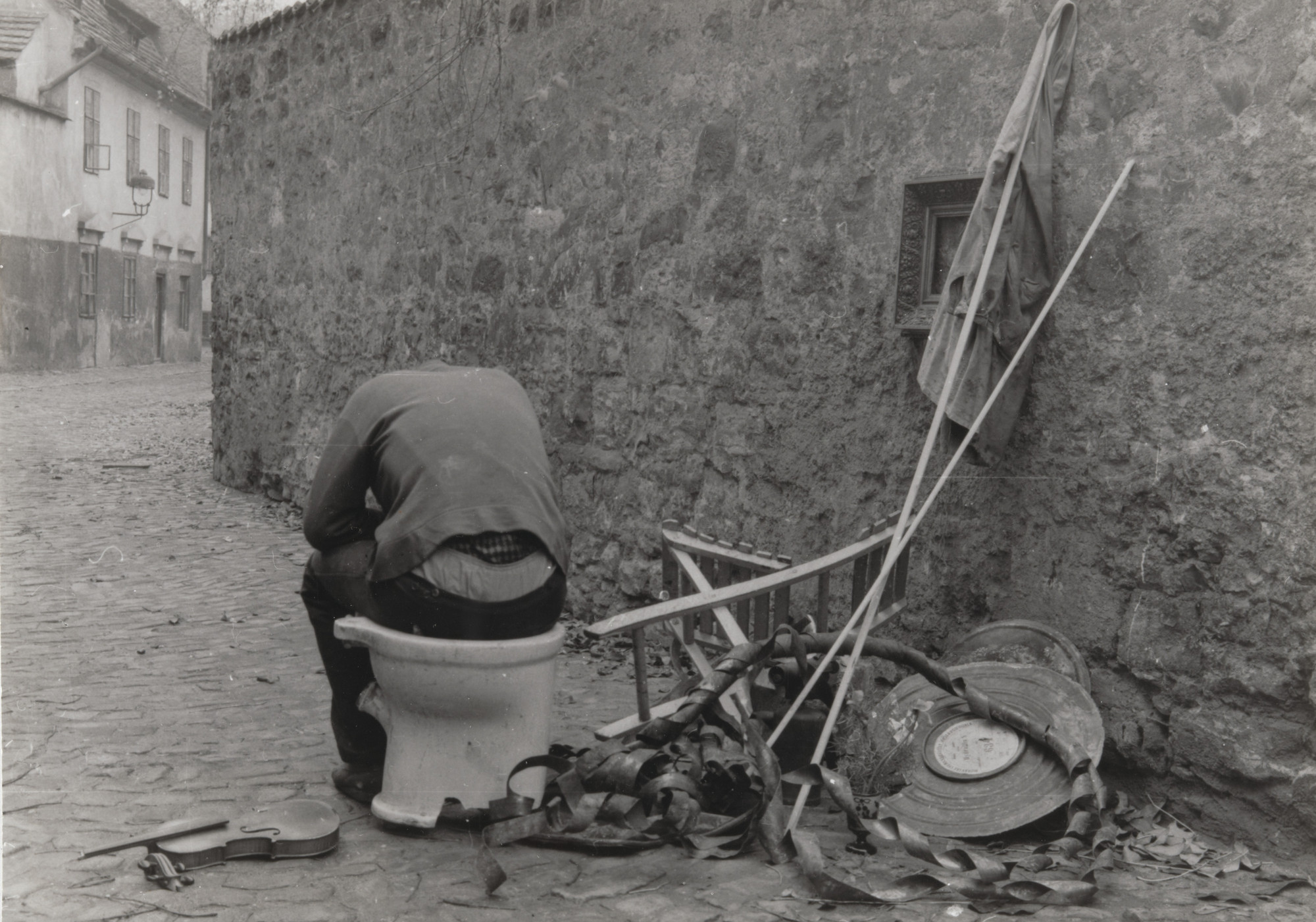 Milan Knížák. Environments on the Street from Performance Files. 1962–63