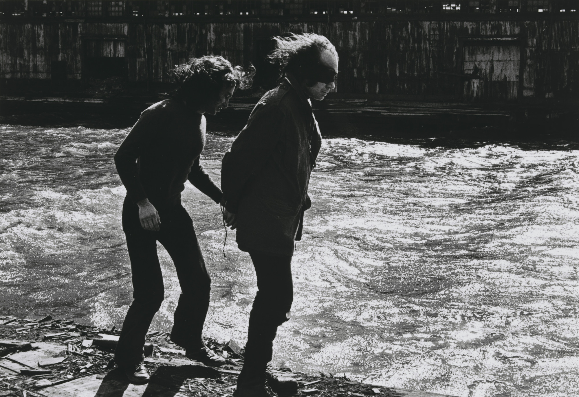 Vito Acconci, Harry Shunk, János Kender. Security Zone. 1971
