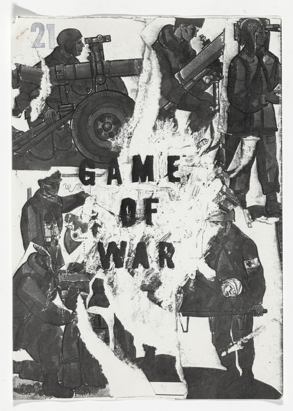 Milan Knížák. Game of War from Performance Files. 1965
