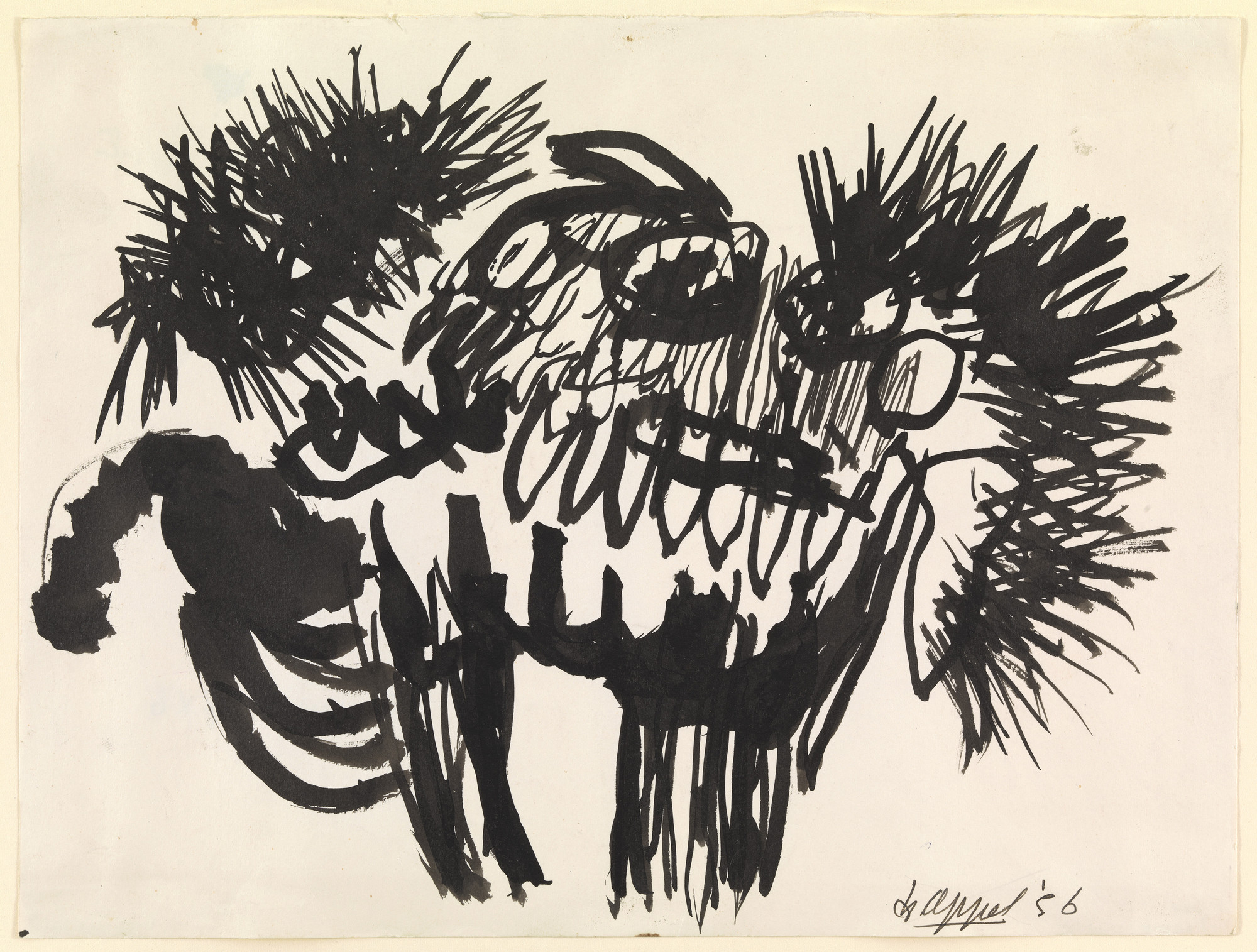 Karel Appel. Beast. 1956
