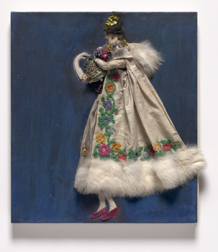 Florine Stettheimer. Costume design (Georgette) for artist's ballet Orphée of the Quat-z-arts. c. 1912