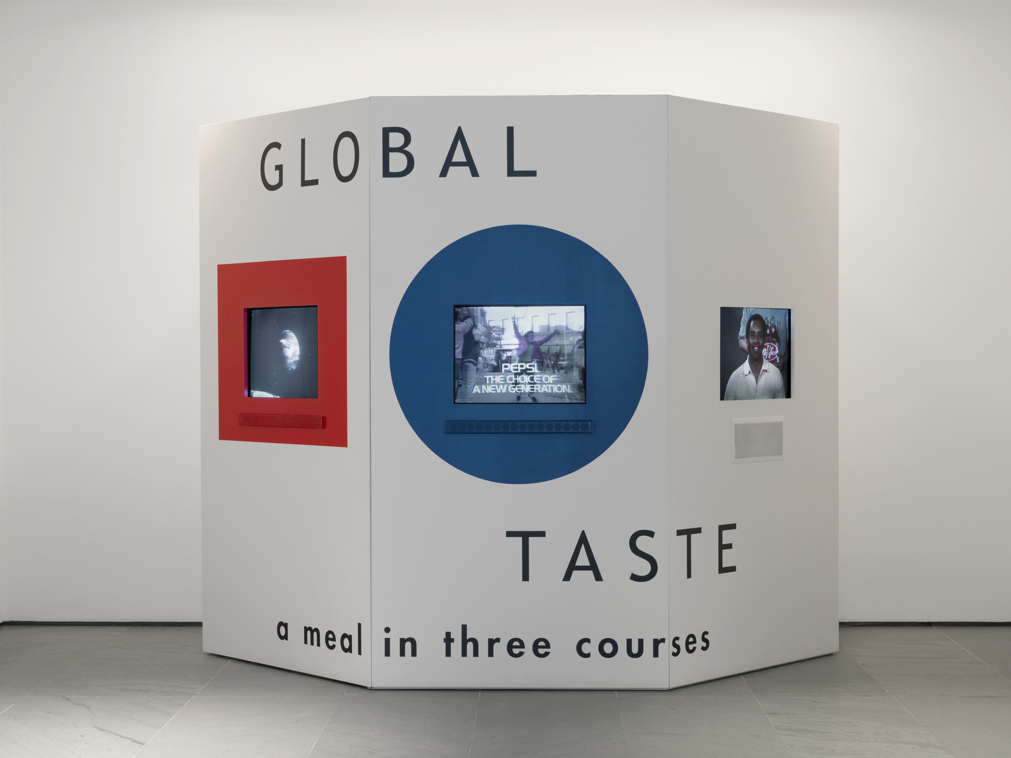Martha Rosler. Global Taste: A Meal in Three Courses. 1985/2014