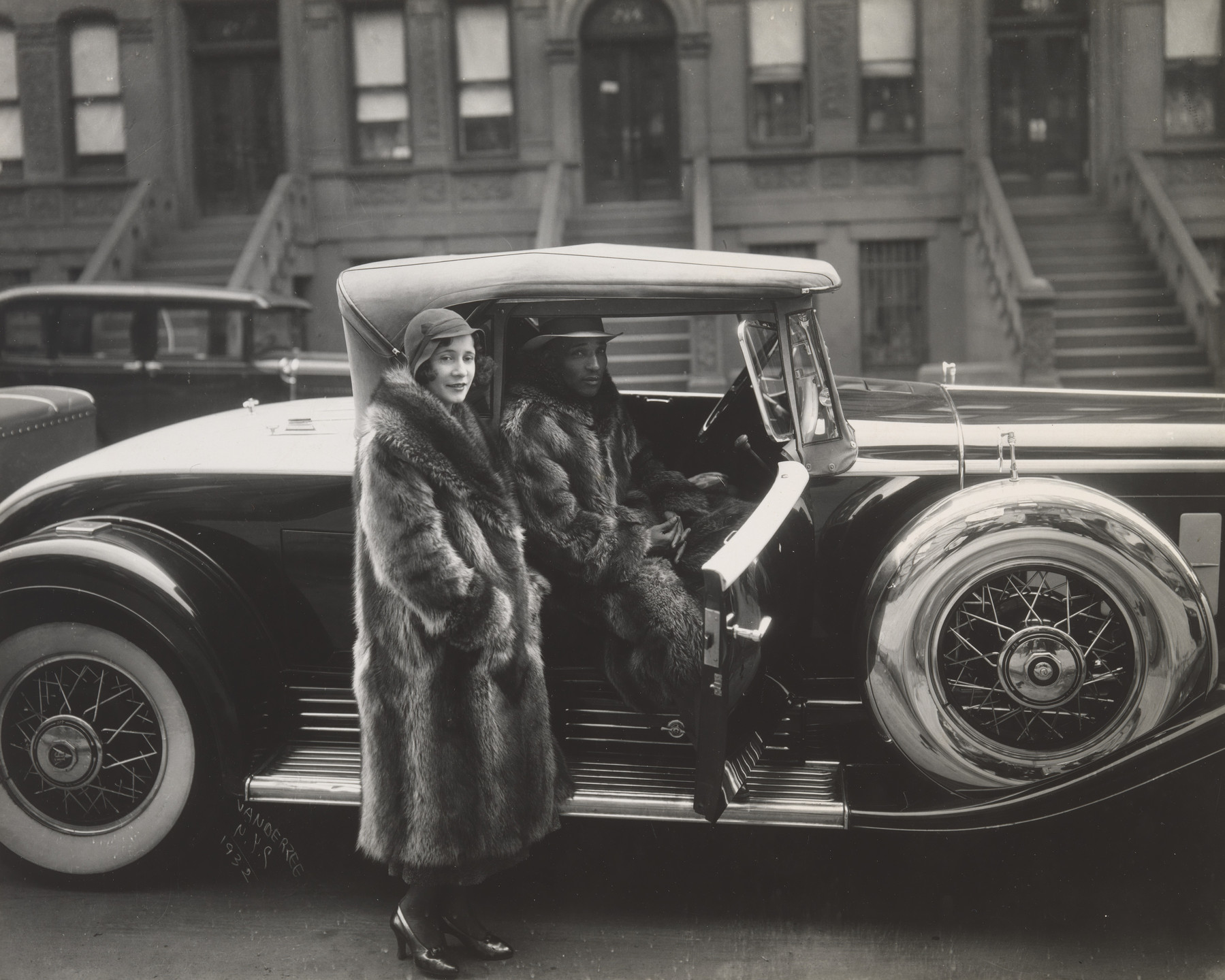 James Van Der Zee. Couple, Harlem. 1932