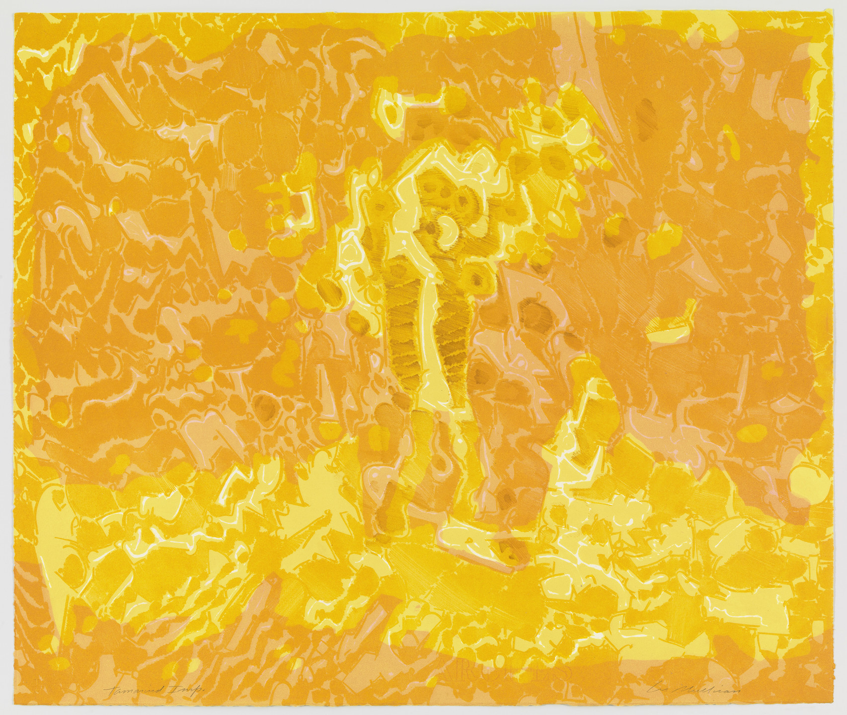 Lee Mullican. Meditations on a Landscape. 1964