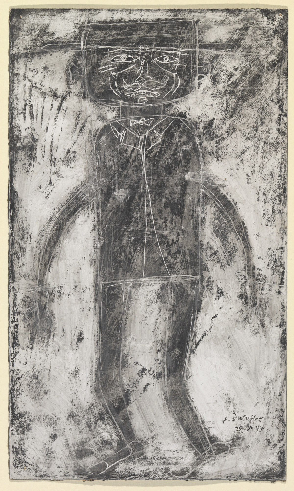 Jean Dubuffet. Personage. June 29, 1944