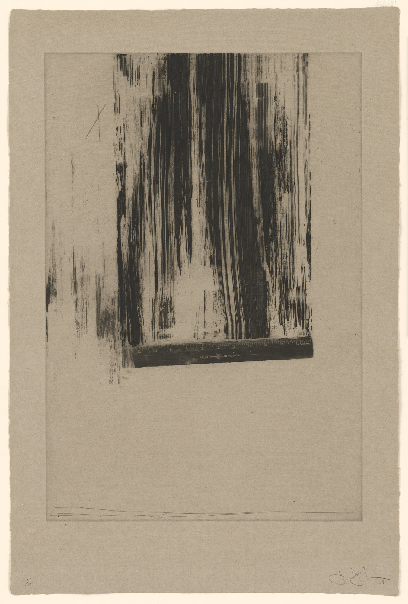 Jasper Johns. Untitled. 1969