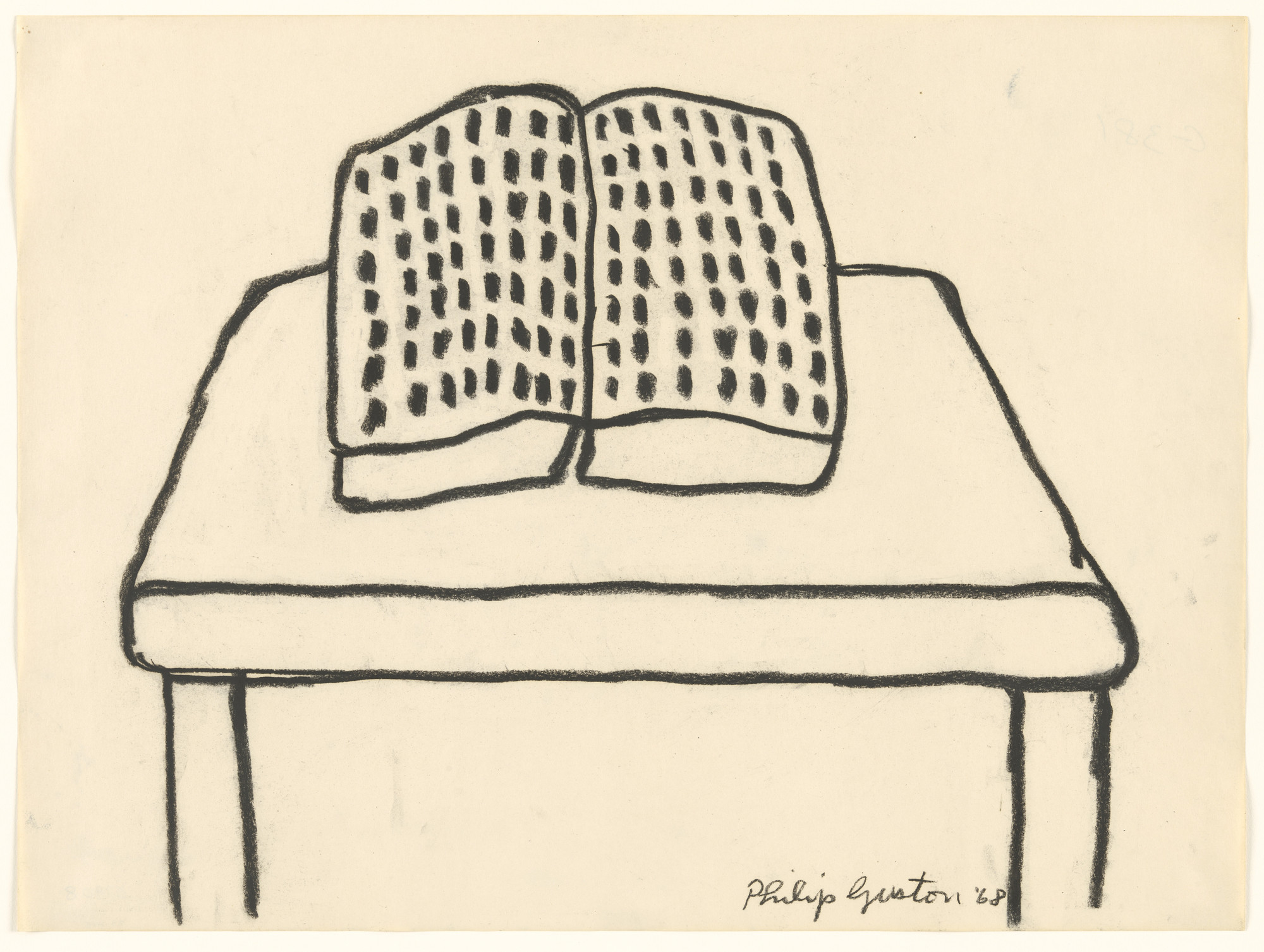 Philip Guston. Book. 1968