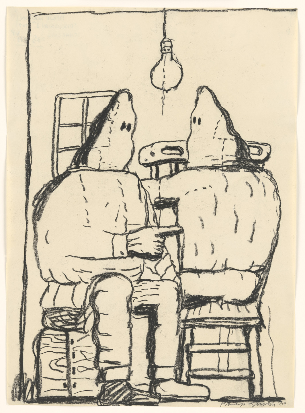 Philip Guston. Discussion I. 1969