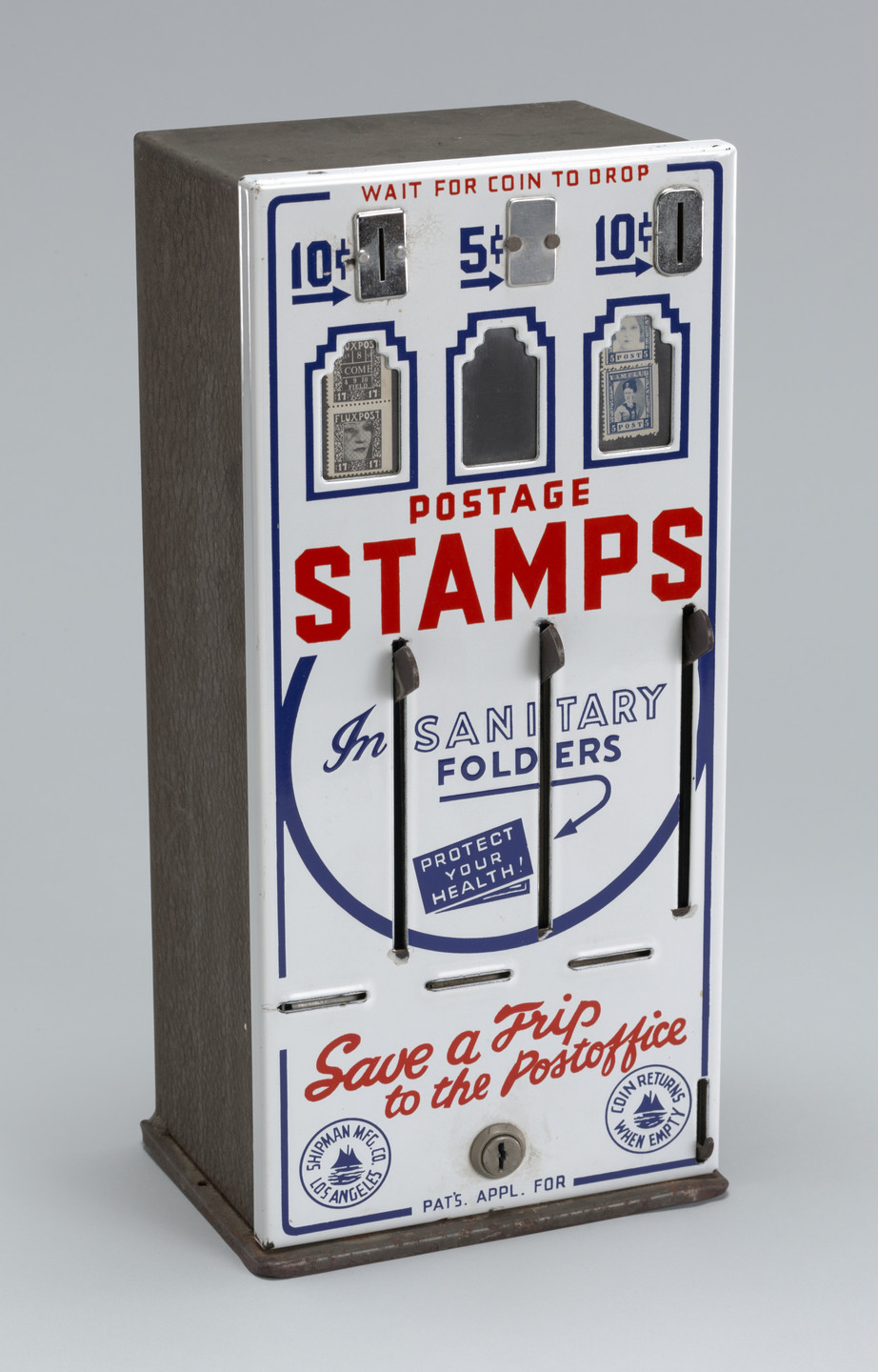 Robert Watts. Stamp Dispenser. 1963