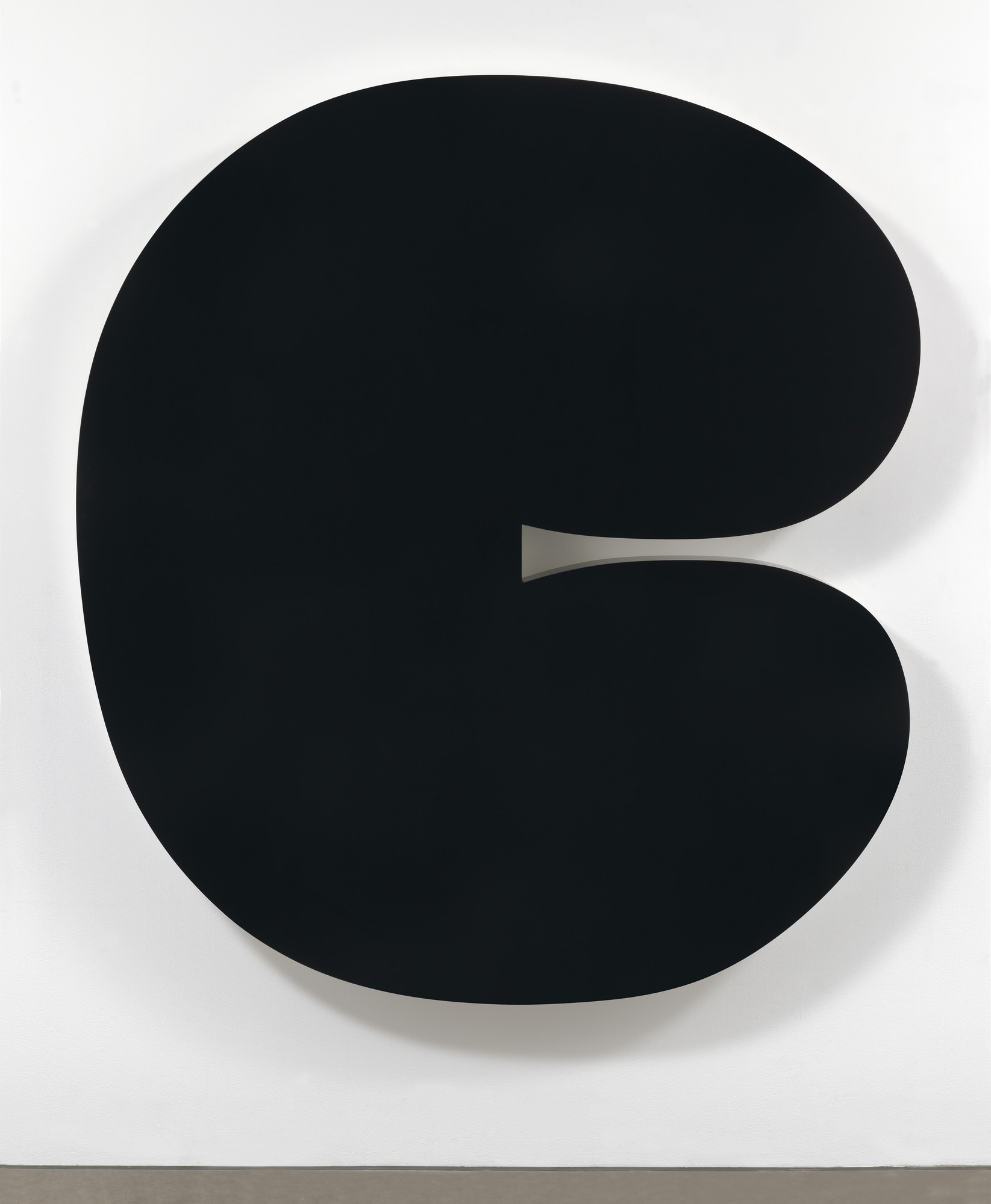 Ellsworth Kelly. Black Form II. 2012