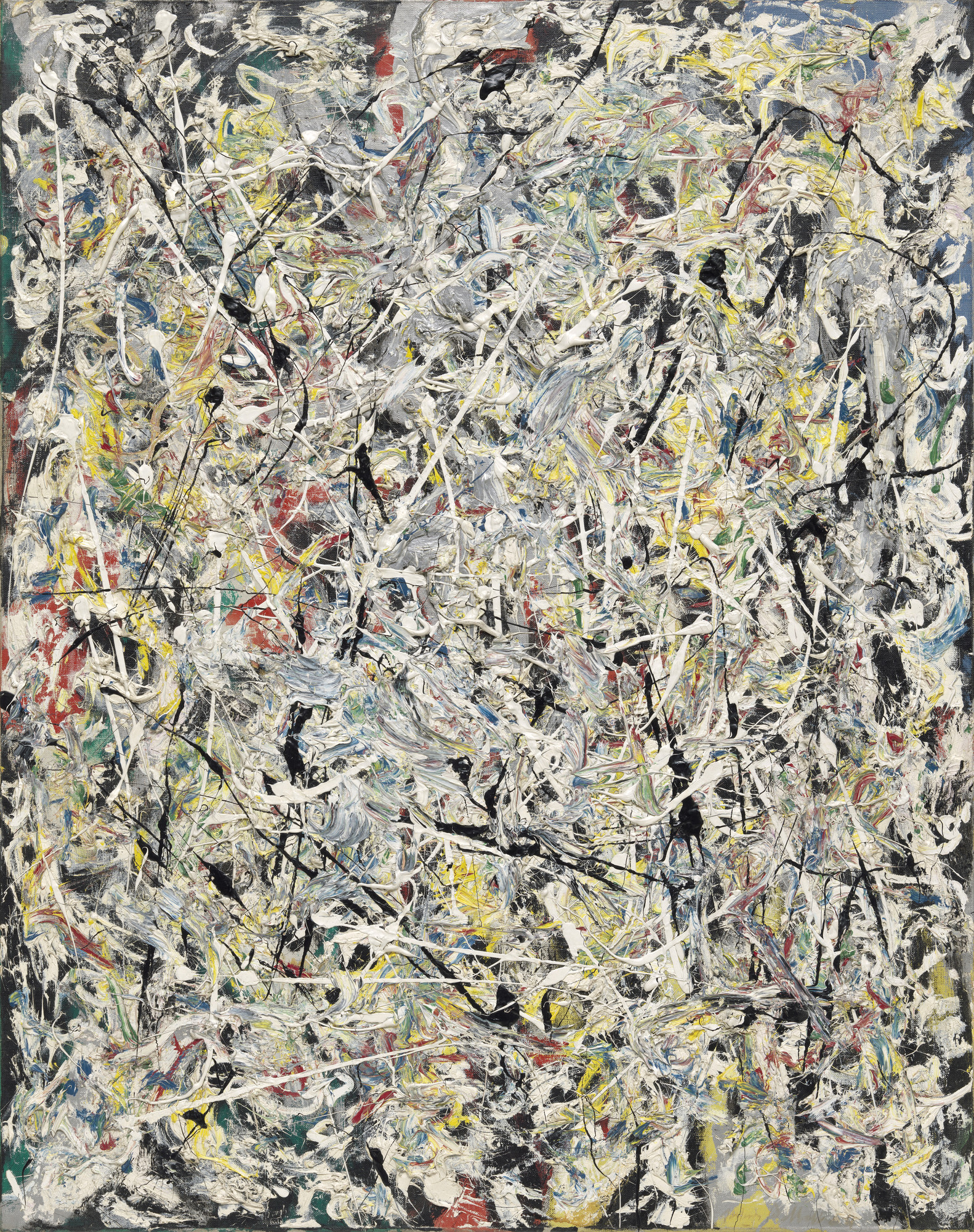 Jackson Pollock. White Light. 1954