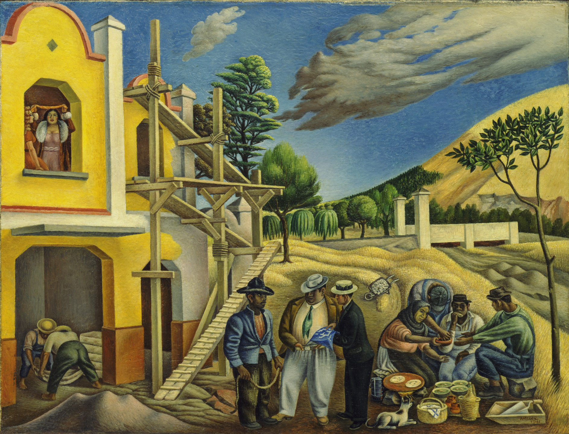 Antonio Ruiz. The New Rich. 1941