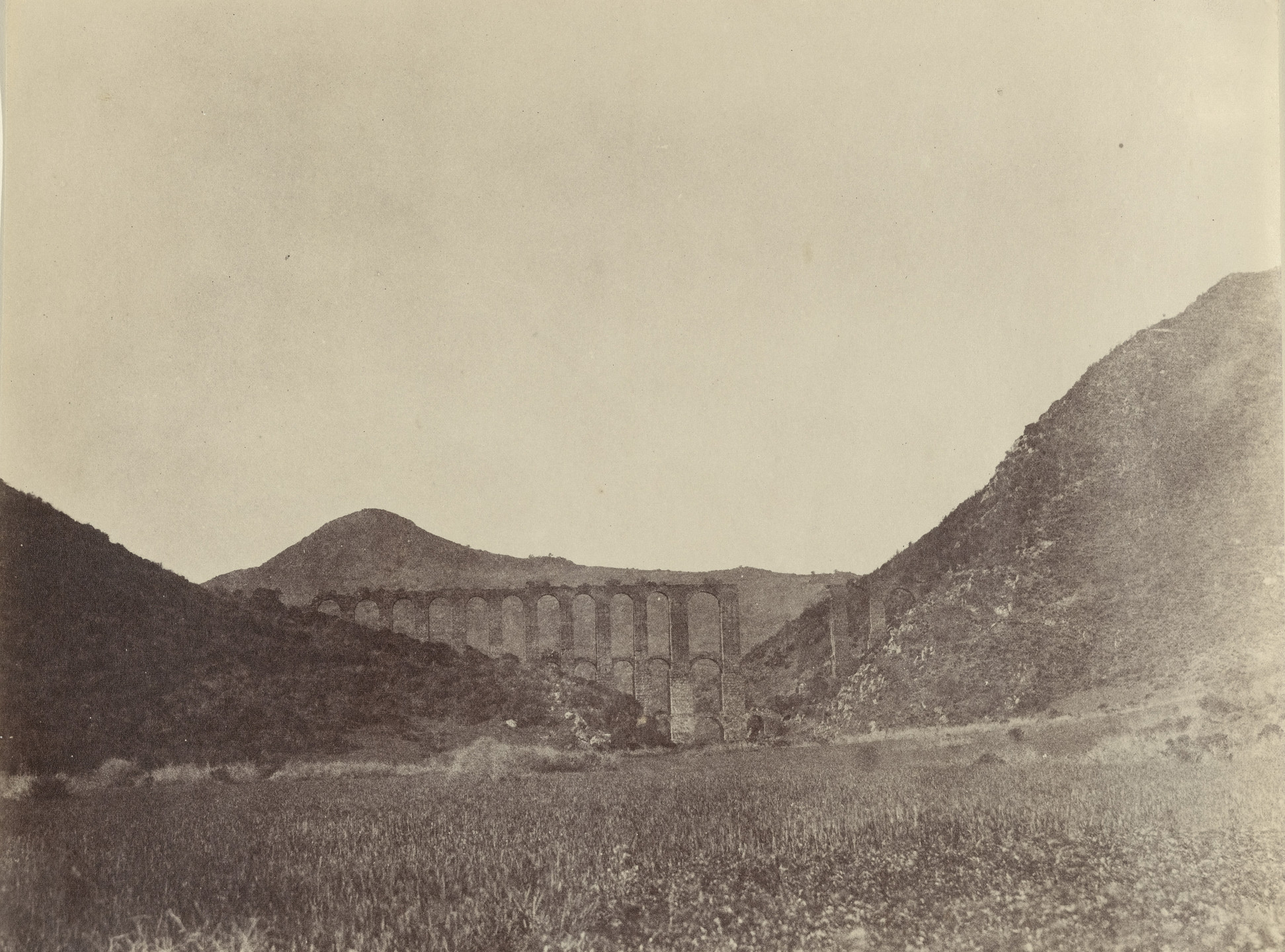 John B. Greene. Aqueduct of Cherchell. 1855-1856