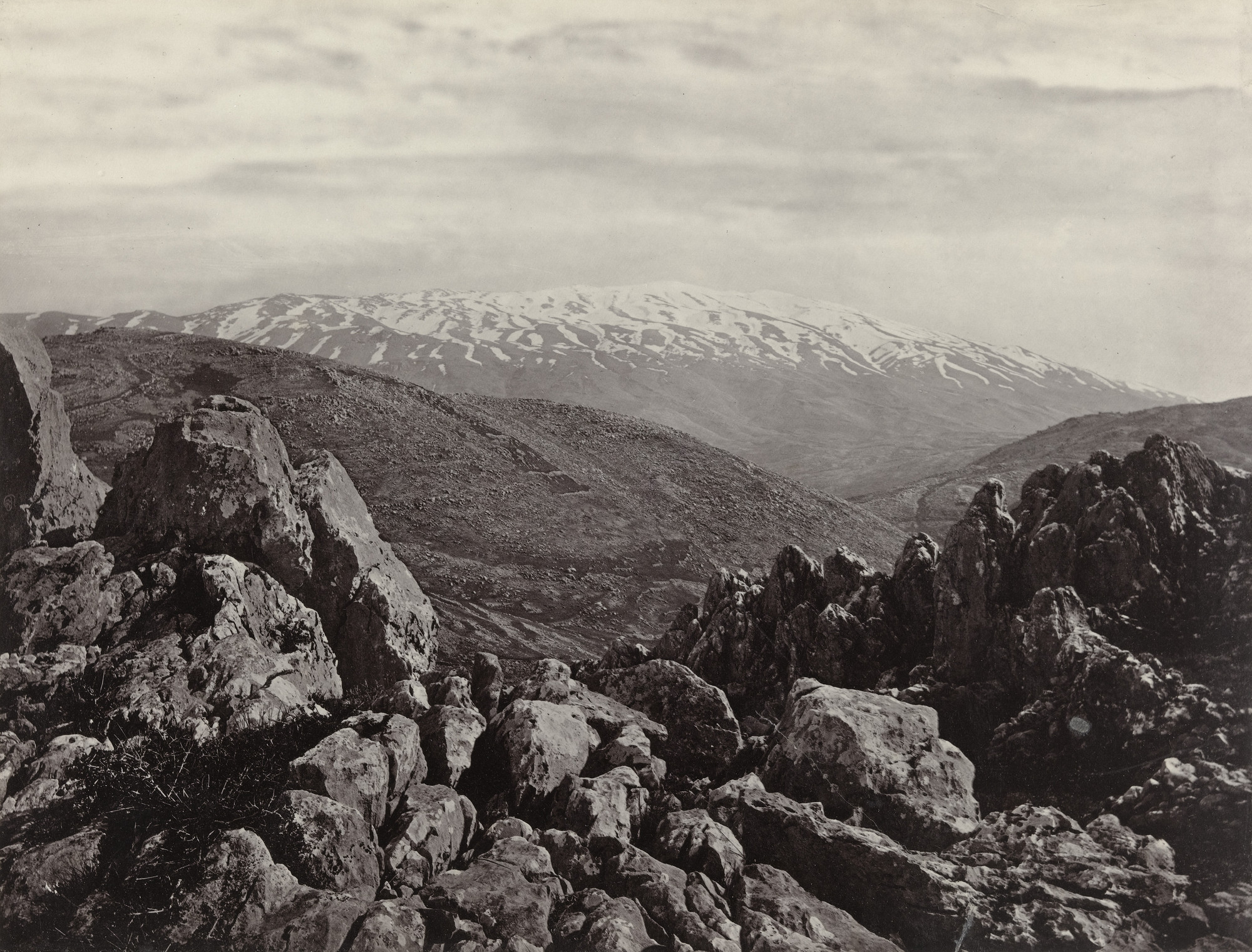 Francis Frith. Mount Hermon. 1855-98