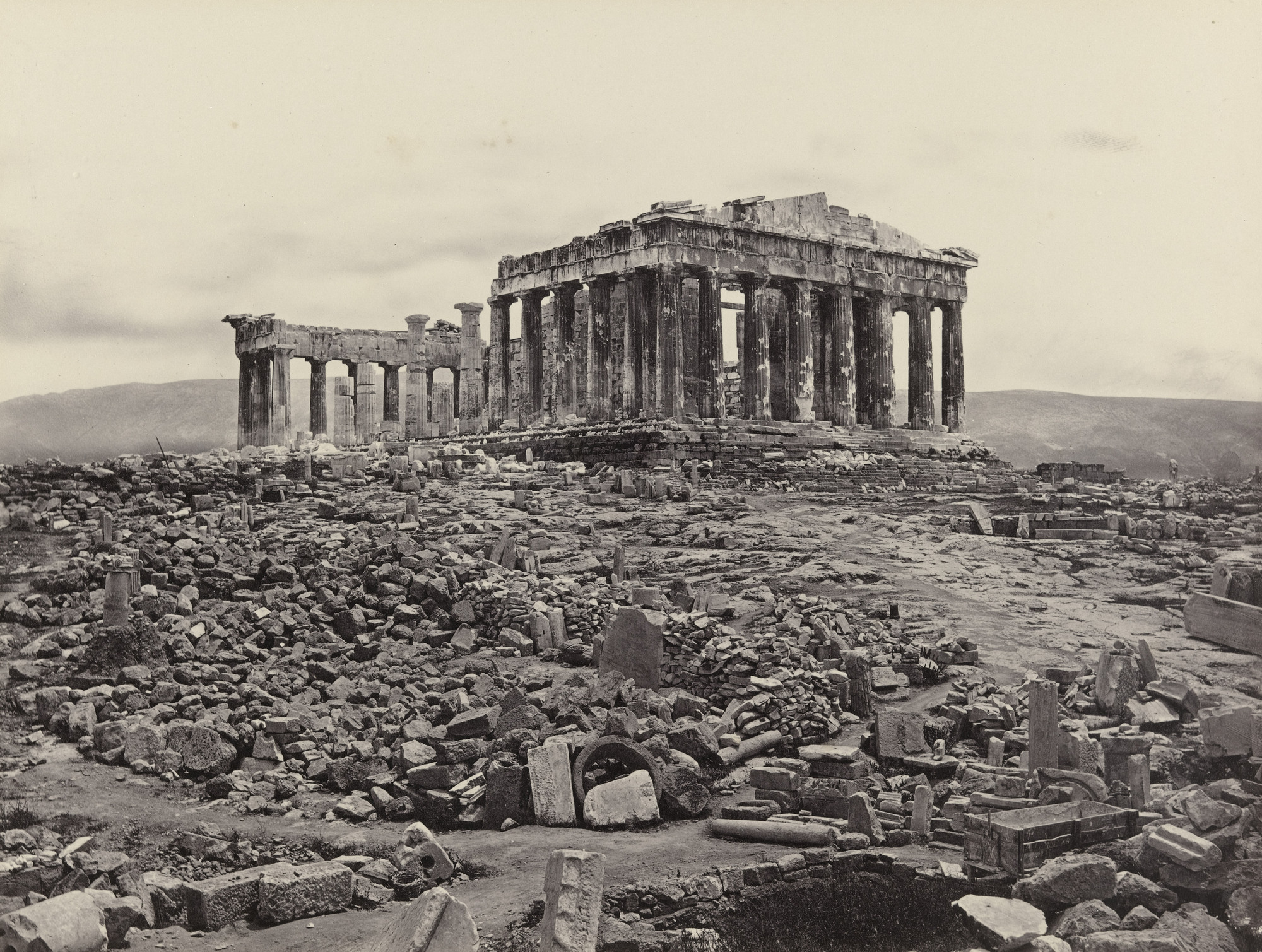 Francis Frith. The Acropolis. 1839-98