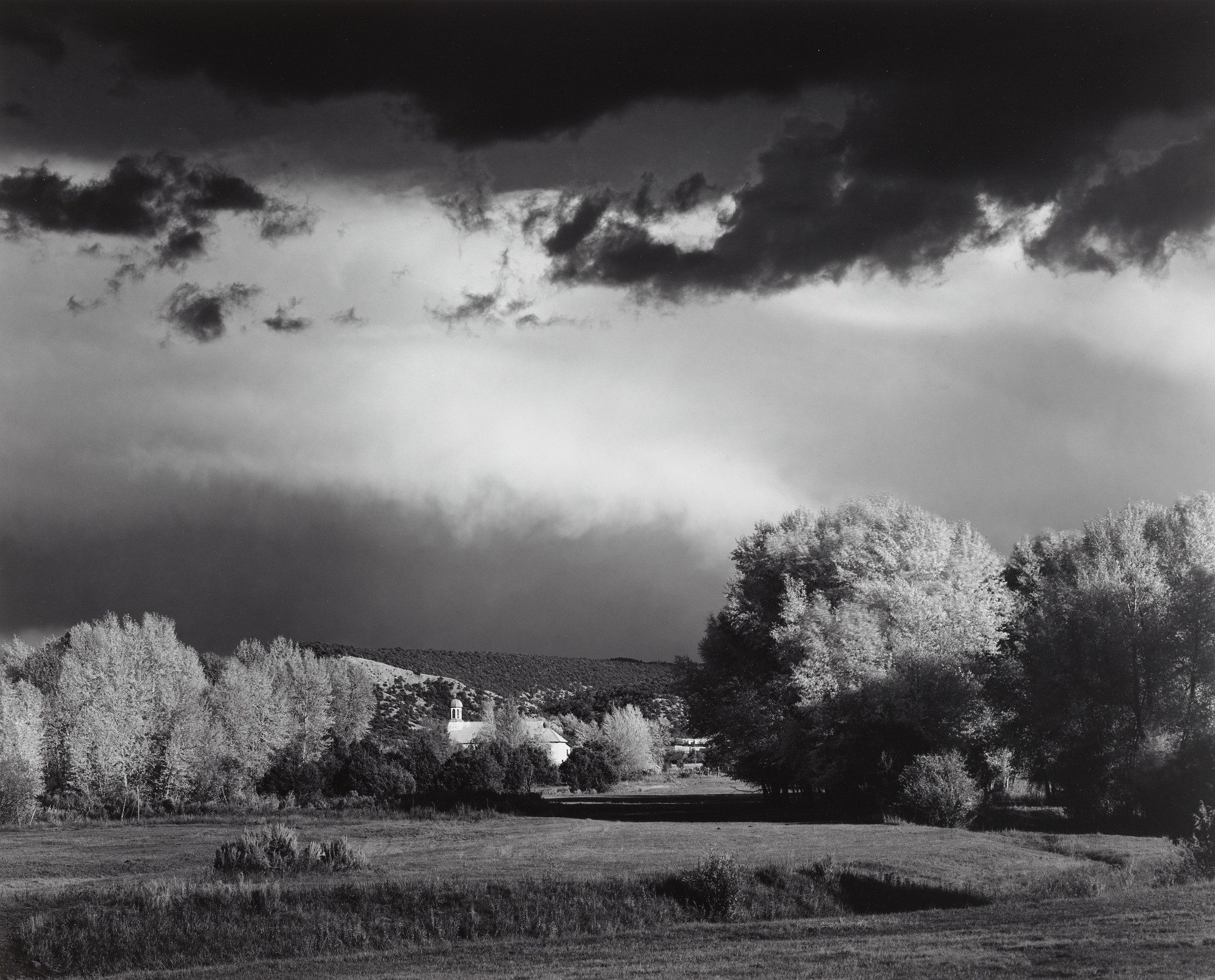 Ansel Adams. Autumn, Storm, near Peñasco, New Mexico. c. 1958 | MoMA
