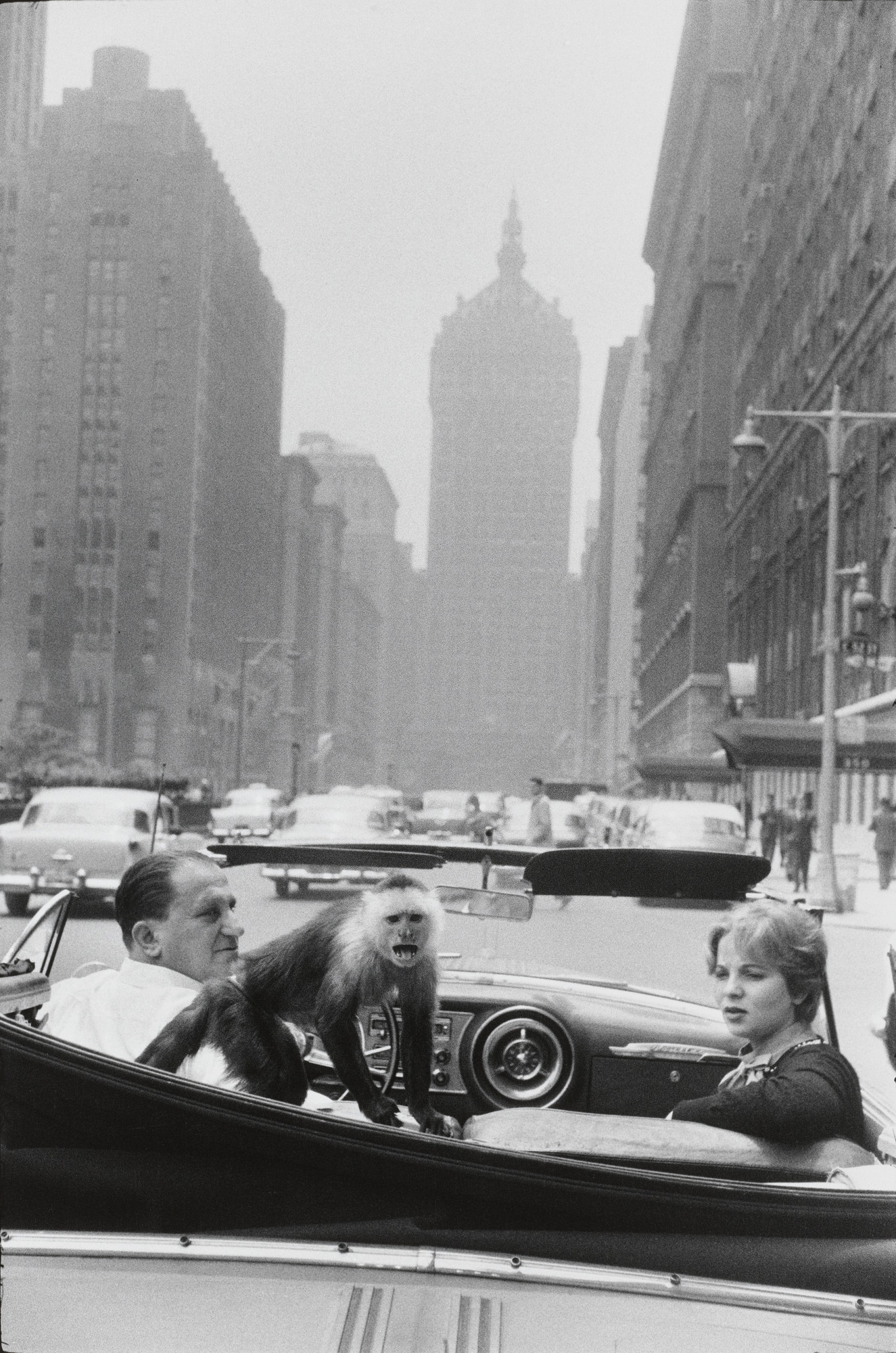 Garry Winogrand. Park Avenue, New York. 1959