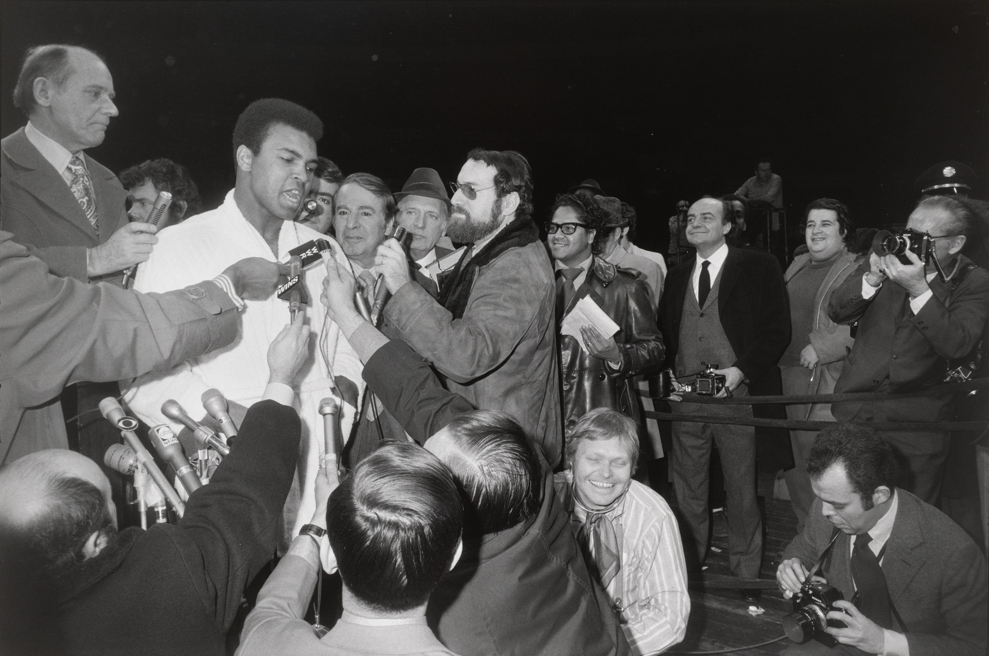 Garry Winogrand. Muhammad Ali - Oscar Bonavena Press Conference, New York City. 1970