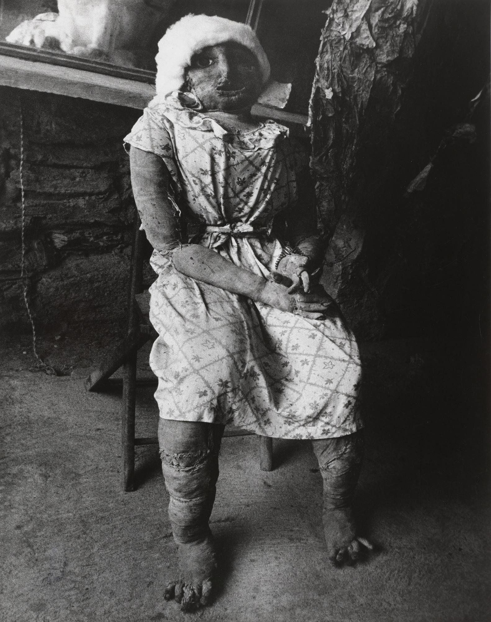 Lisette Model  Voodoo Doll, Caracas  1954 | MoMA