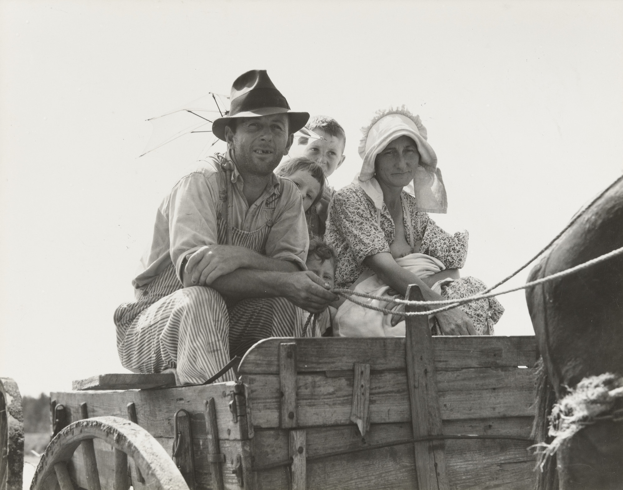Dorothea Lange. Sharecropper's Family, Georgia. July 1937