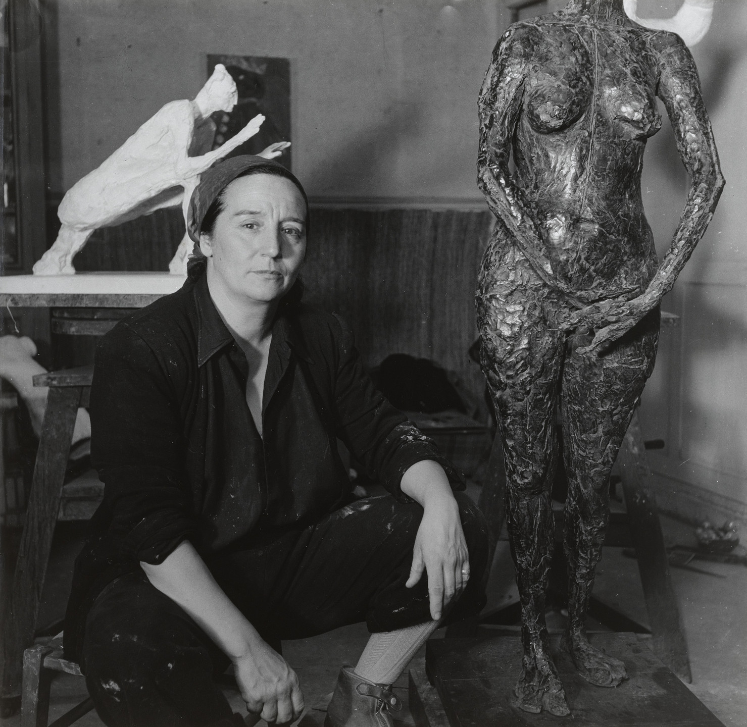 Emmy Andriesse. Germaine Richier, Paris. 1948